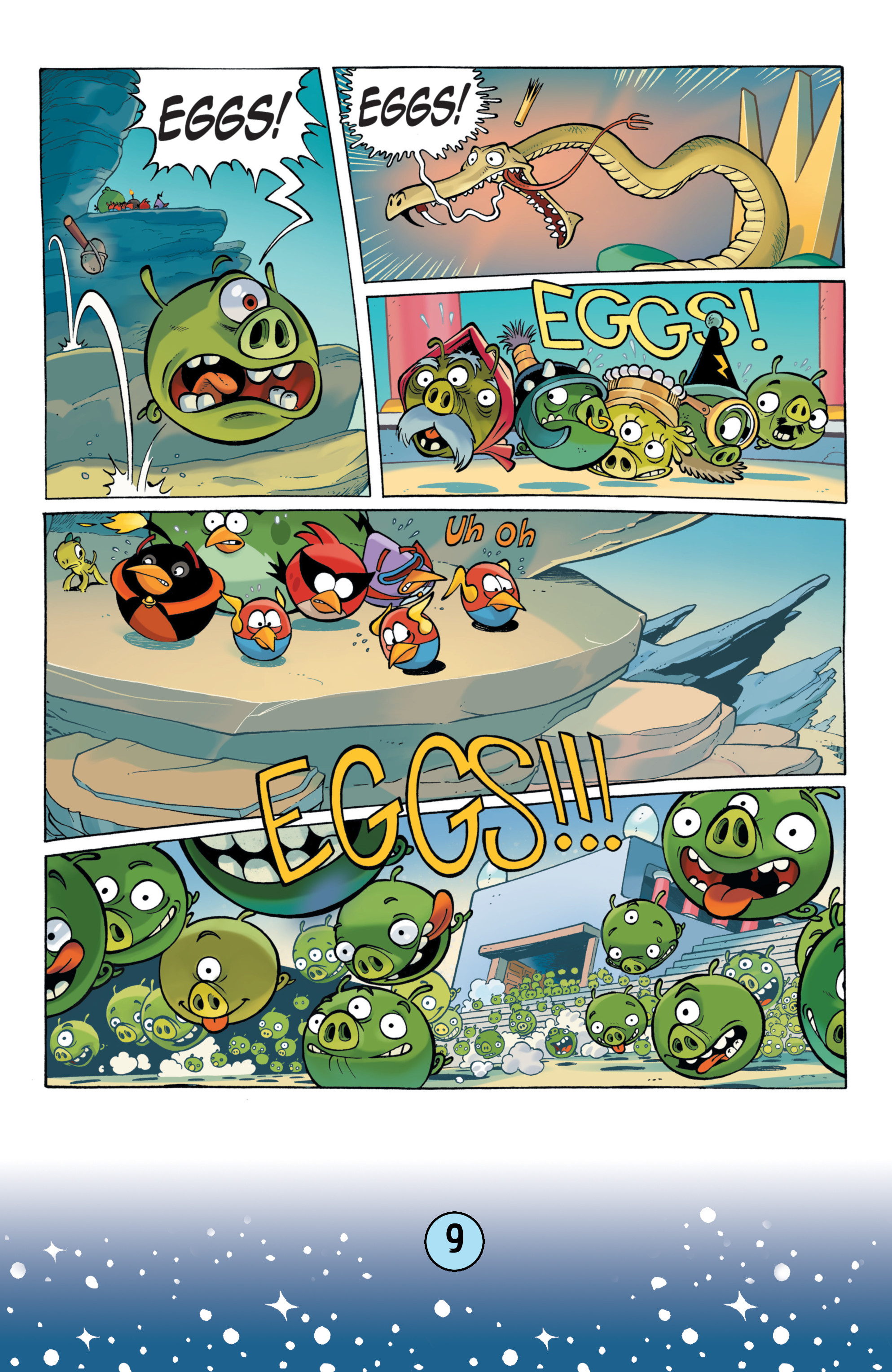 Read online Angry Birds Comics (2016) comic -  Issue #9 - 11