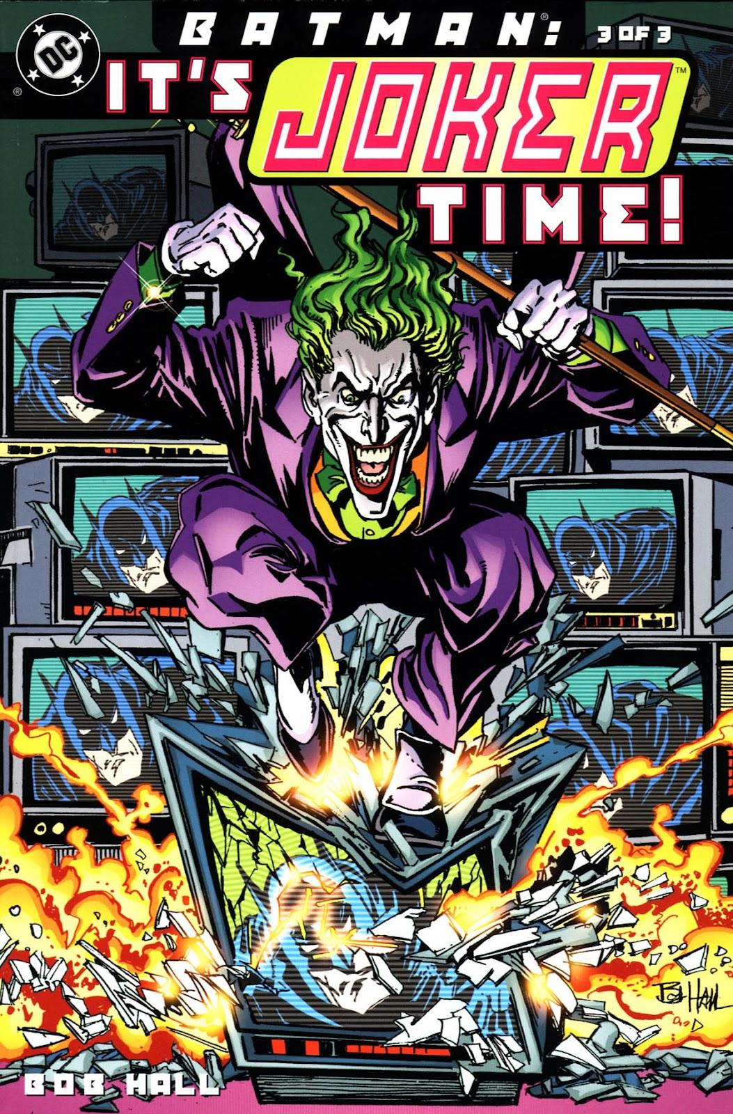 Batman: Joker Time issue 3 - Page 1