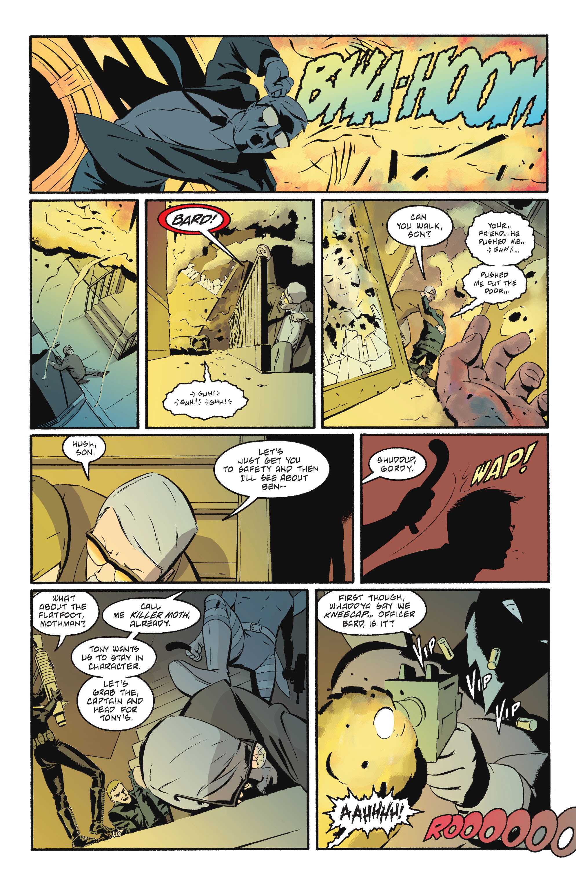 Read online Batgirl/Robin: Year One comic -  Issue # TPB 2 - 121
