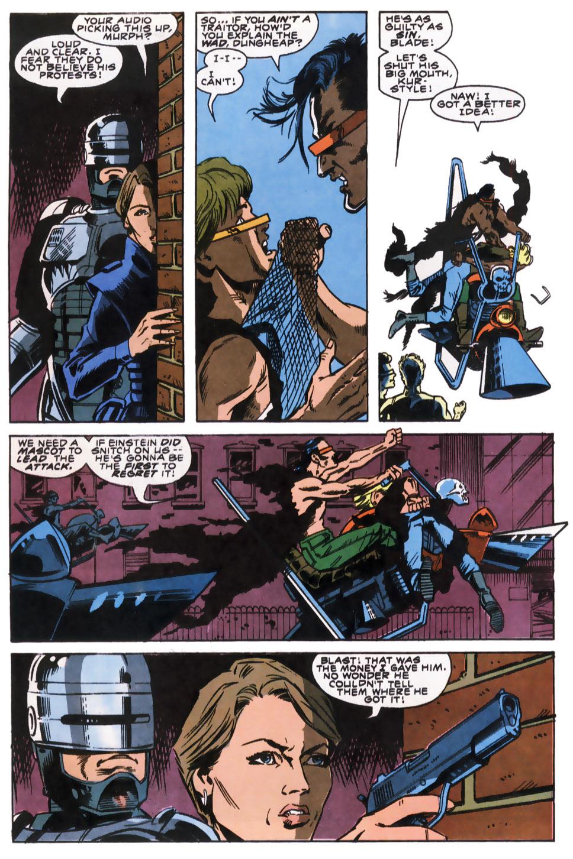 Read online Robocop (1990) comic -  Issue #8 - 14