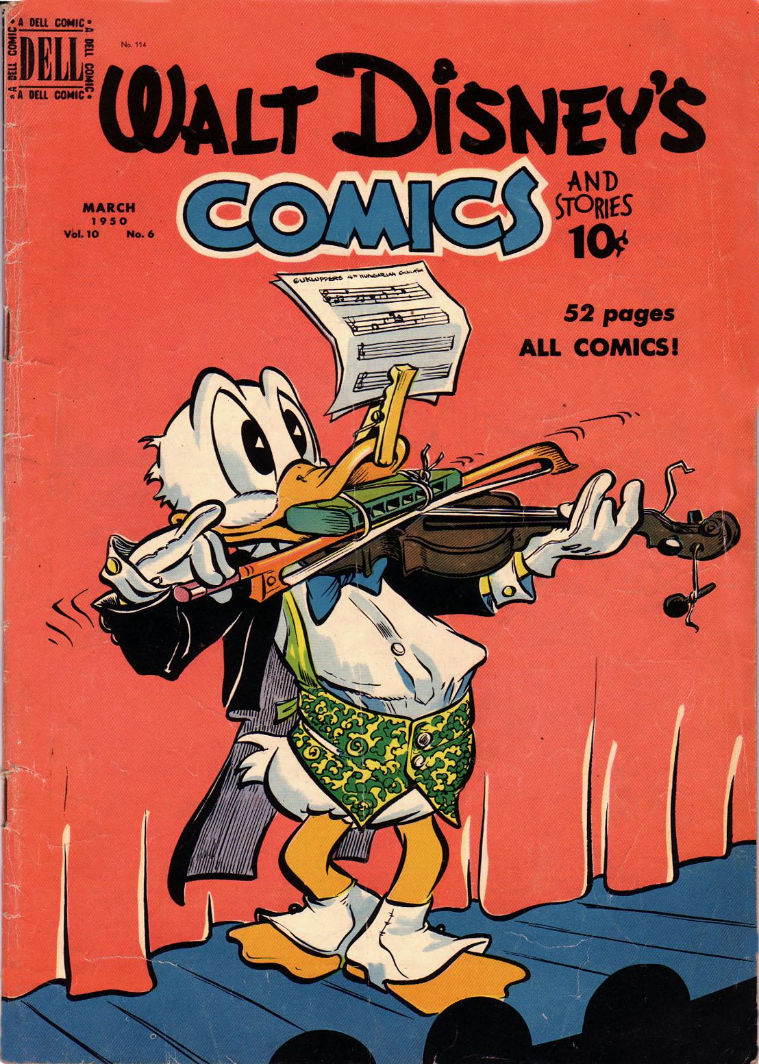 Walt Disneys Comics and Stories 114 Page 1