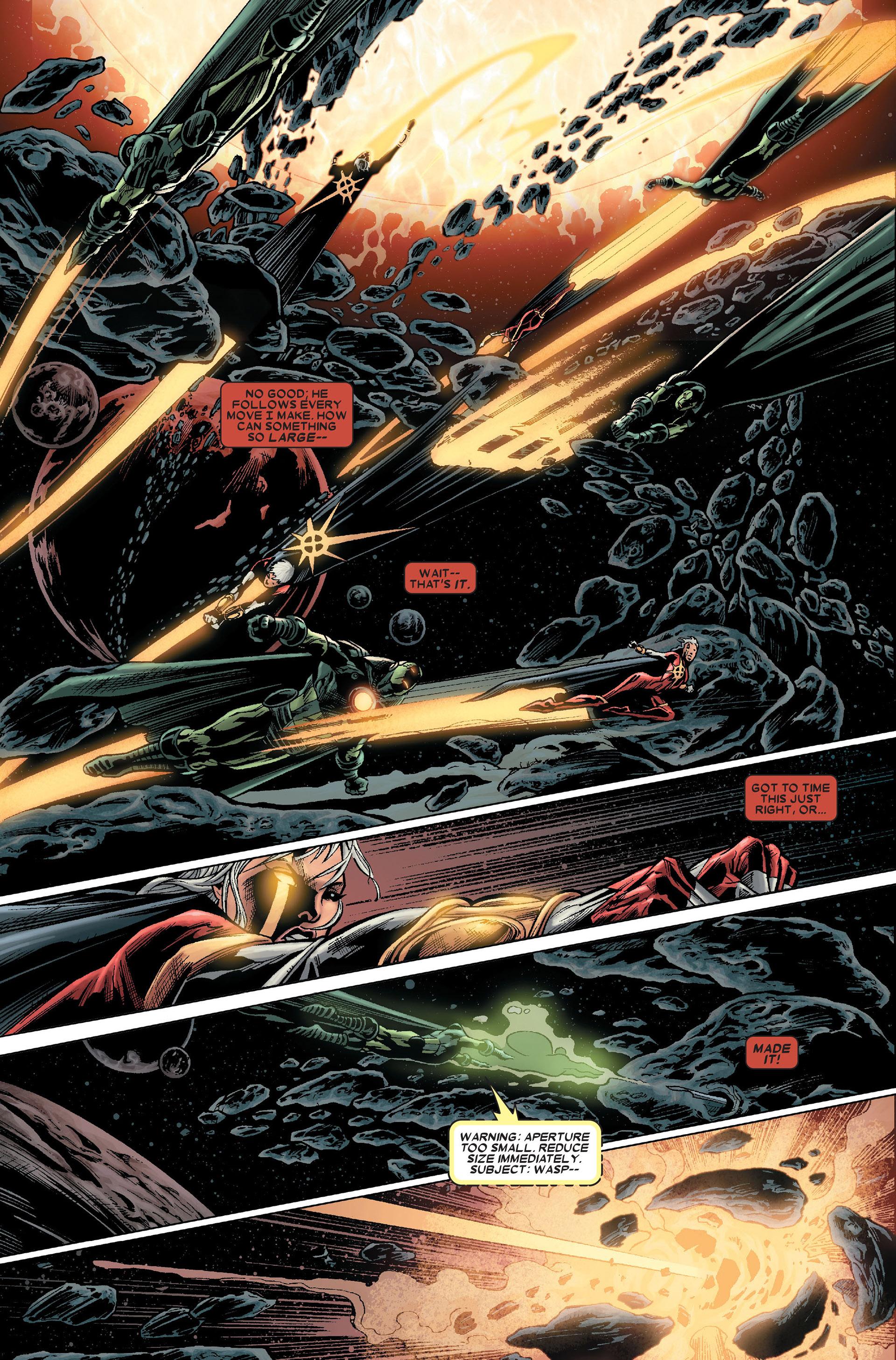 Read online Annihilation: Conquest - Quasar comic -  Issue #1 - 11