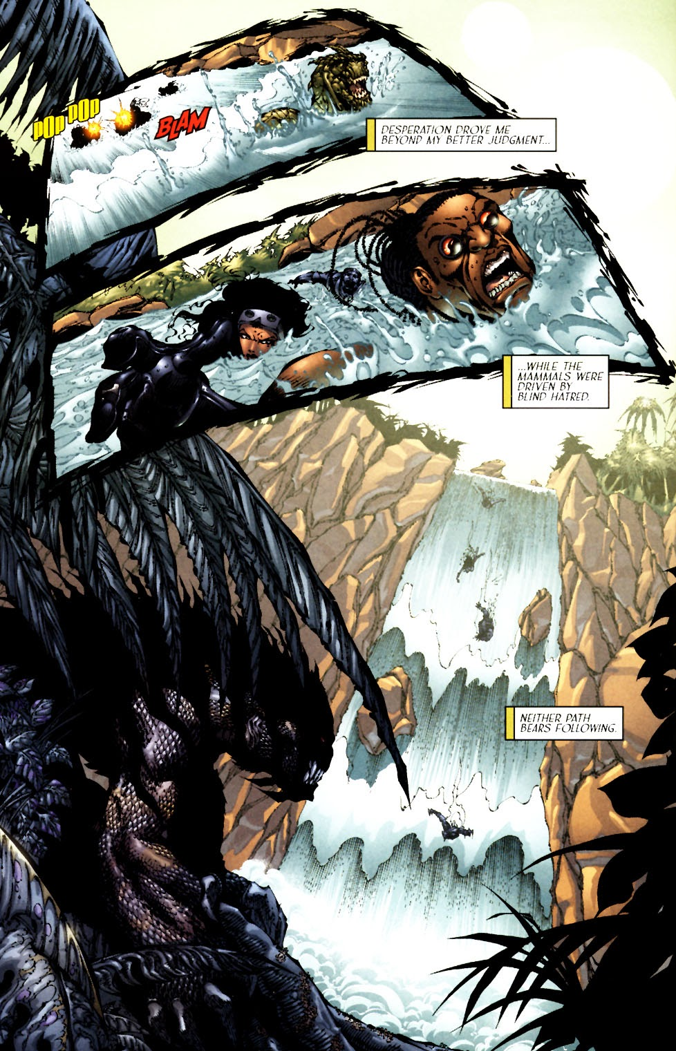 Read online Saurians: Unnatural Selection comic -  Issue #1 - 8