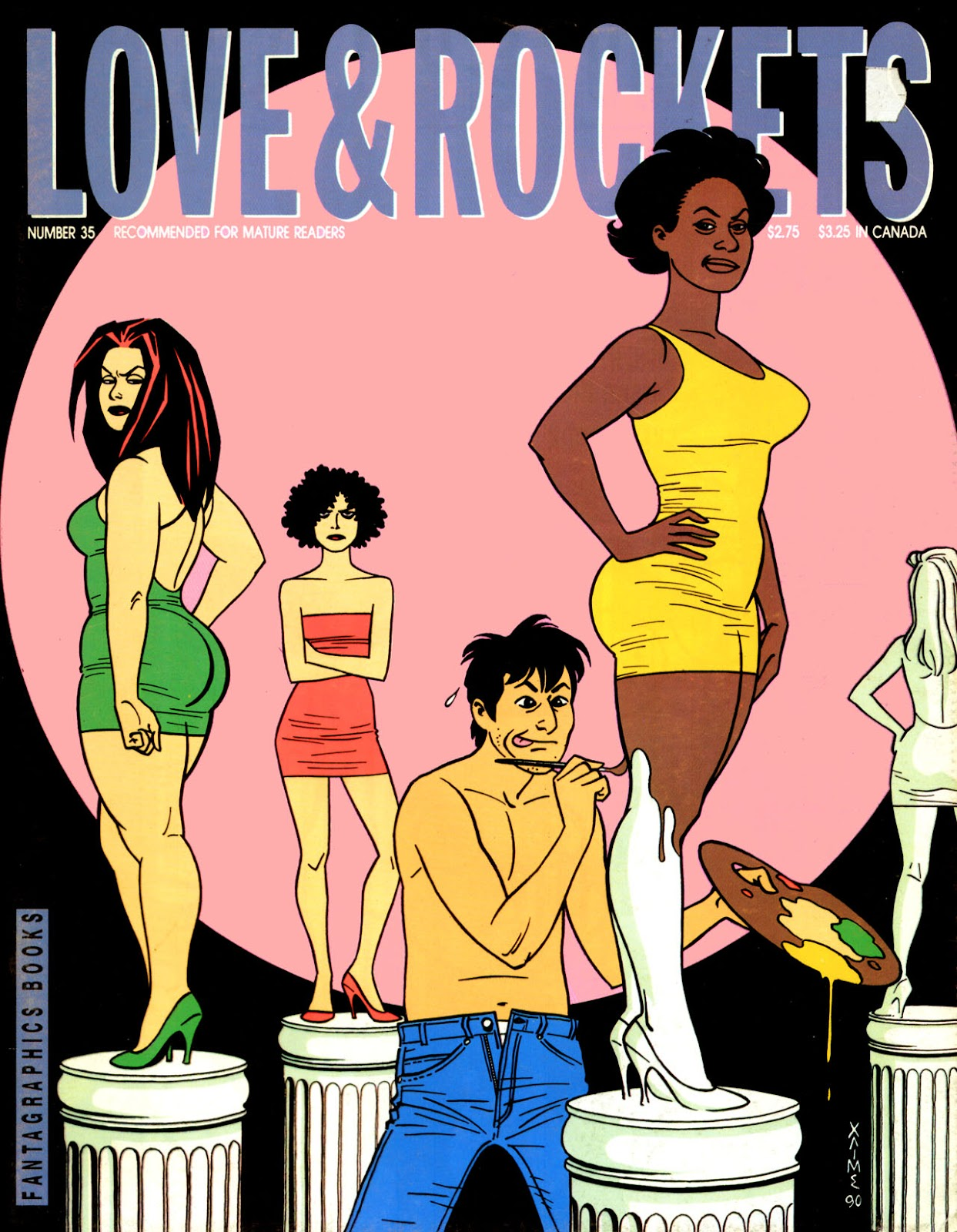Love and Rockets (1982) issue 35 - Page 1