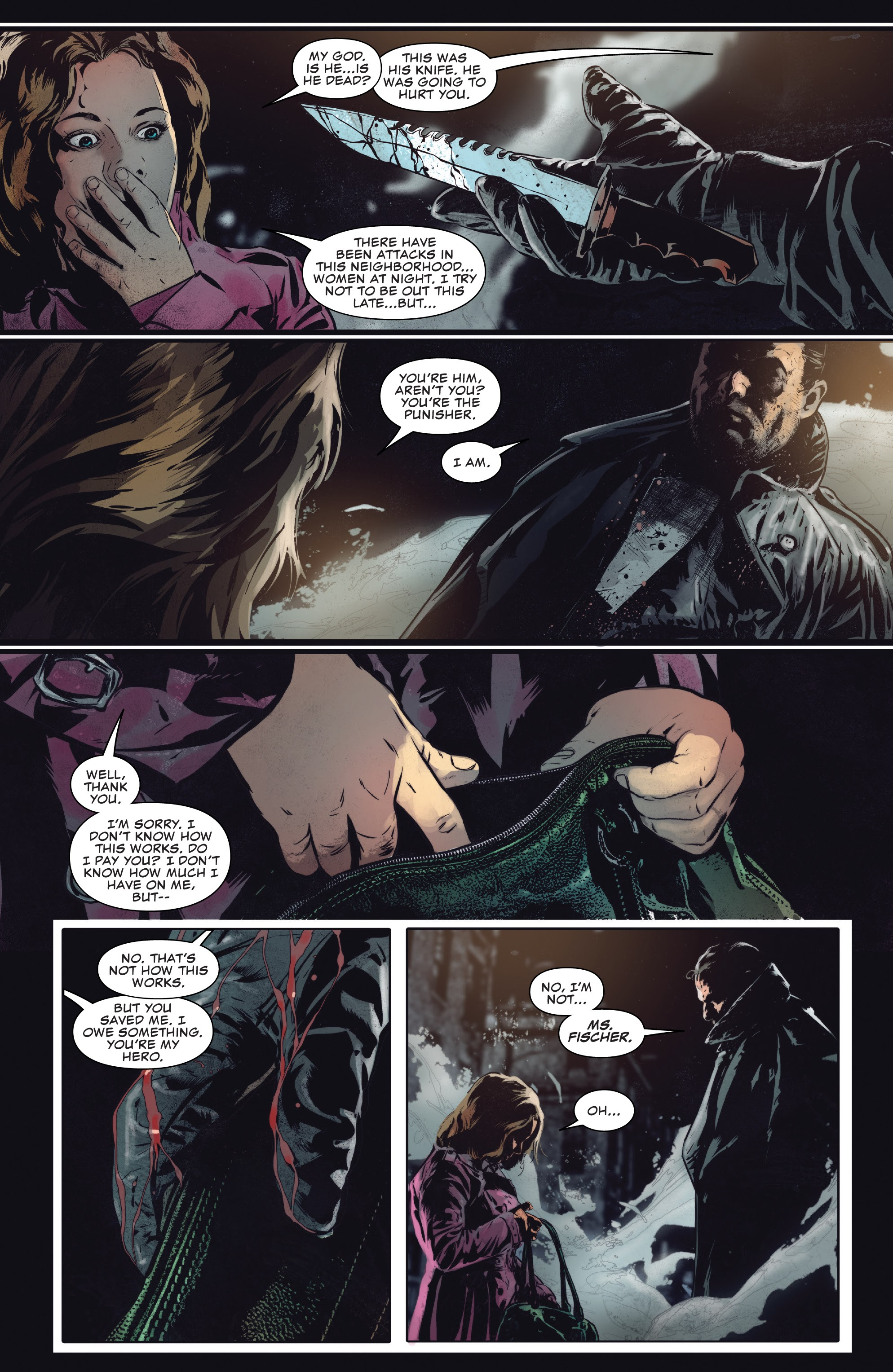 Read online The Punisher (2018) comic -  Issue #13 - 5