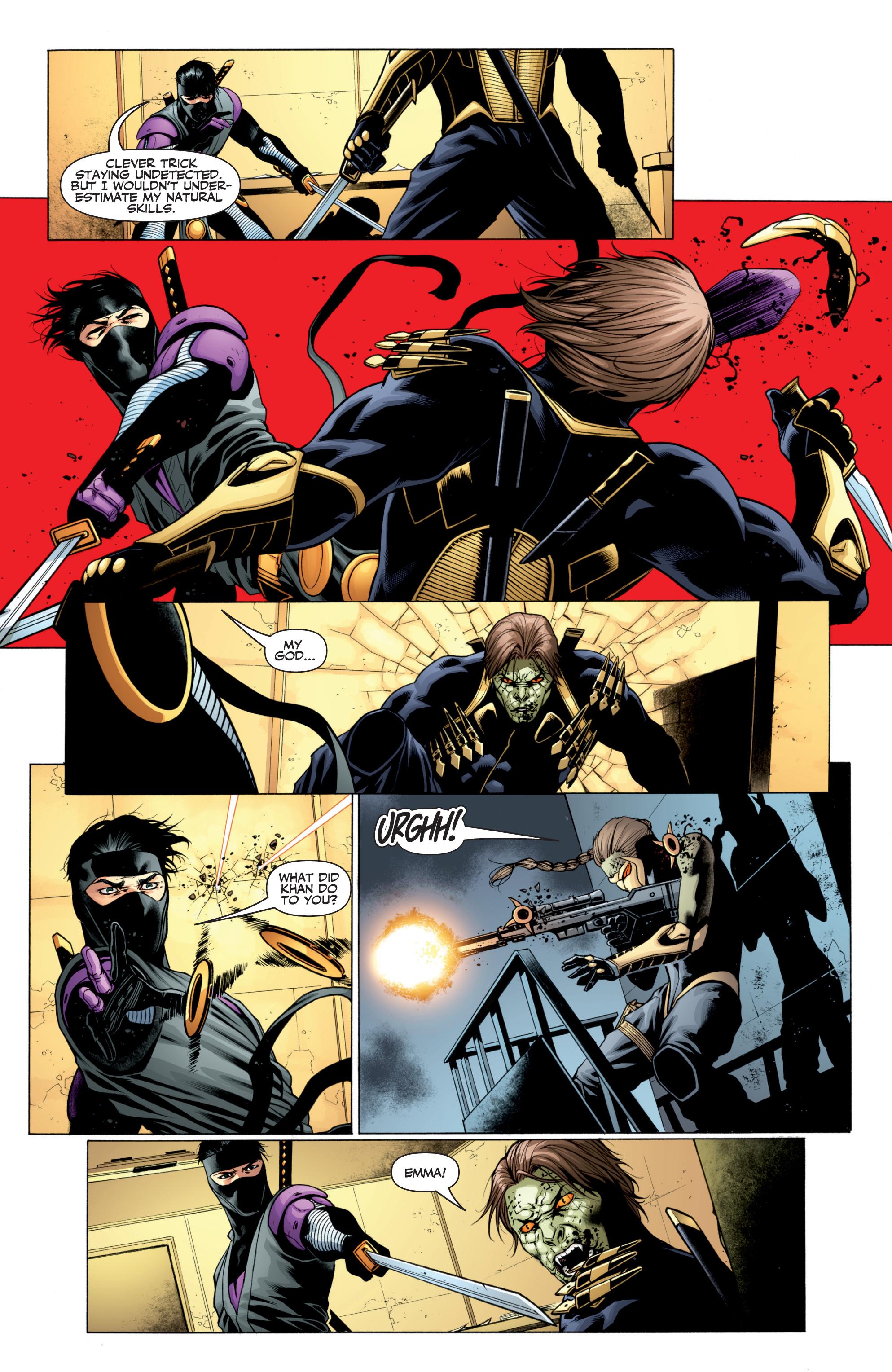Read online Ninjak (2015) comic -  Issue #27 - 13