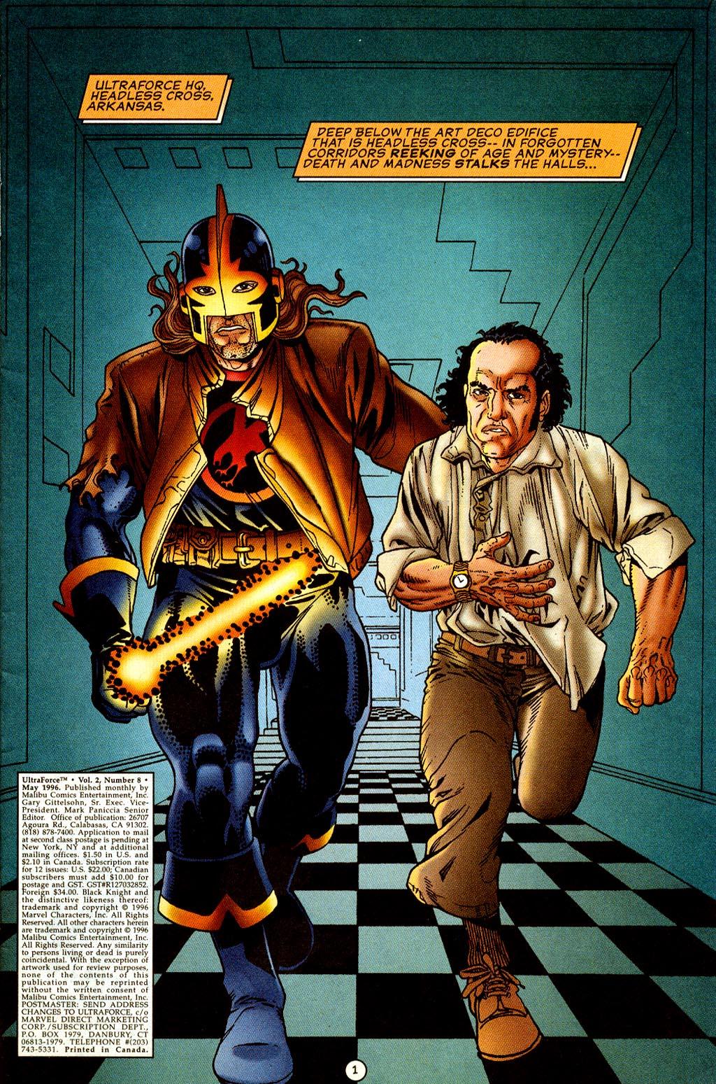 Read online UltraForce (1995) comic -  Issue #8 - 2