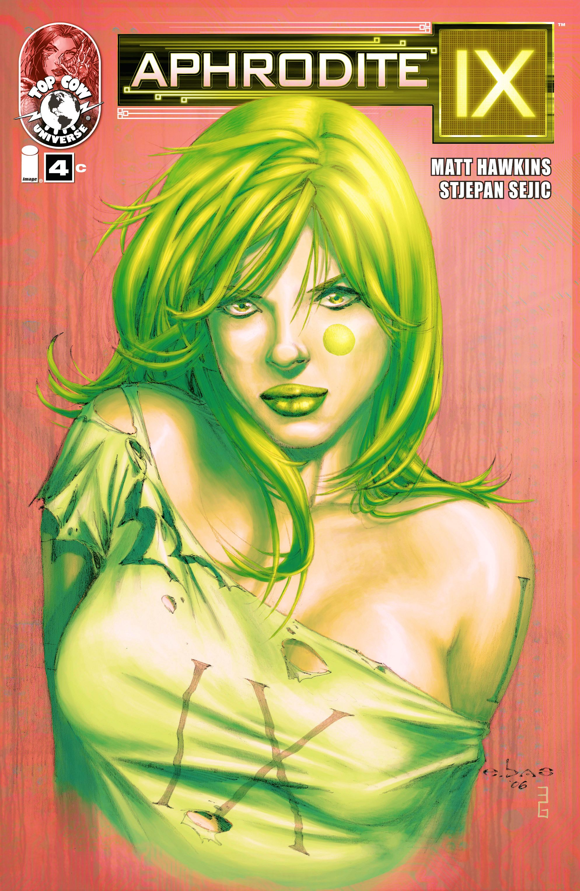 Read online Aphrodite IX (2013) comic -  Issue #4 - 3