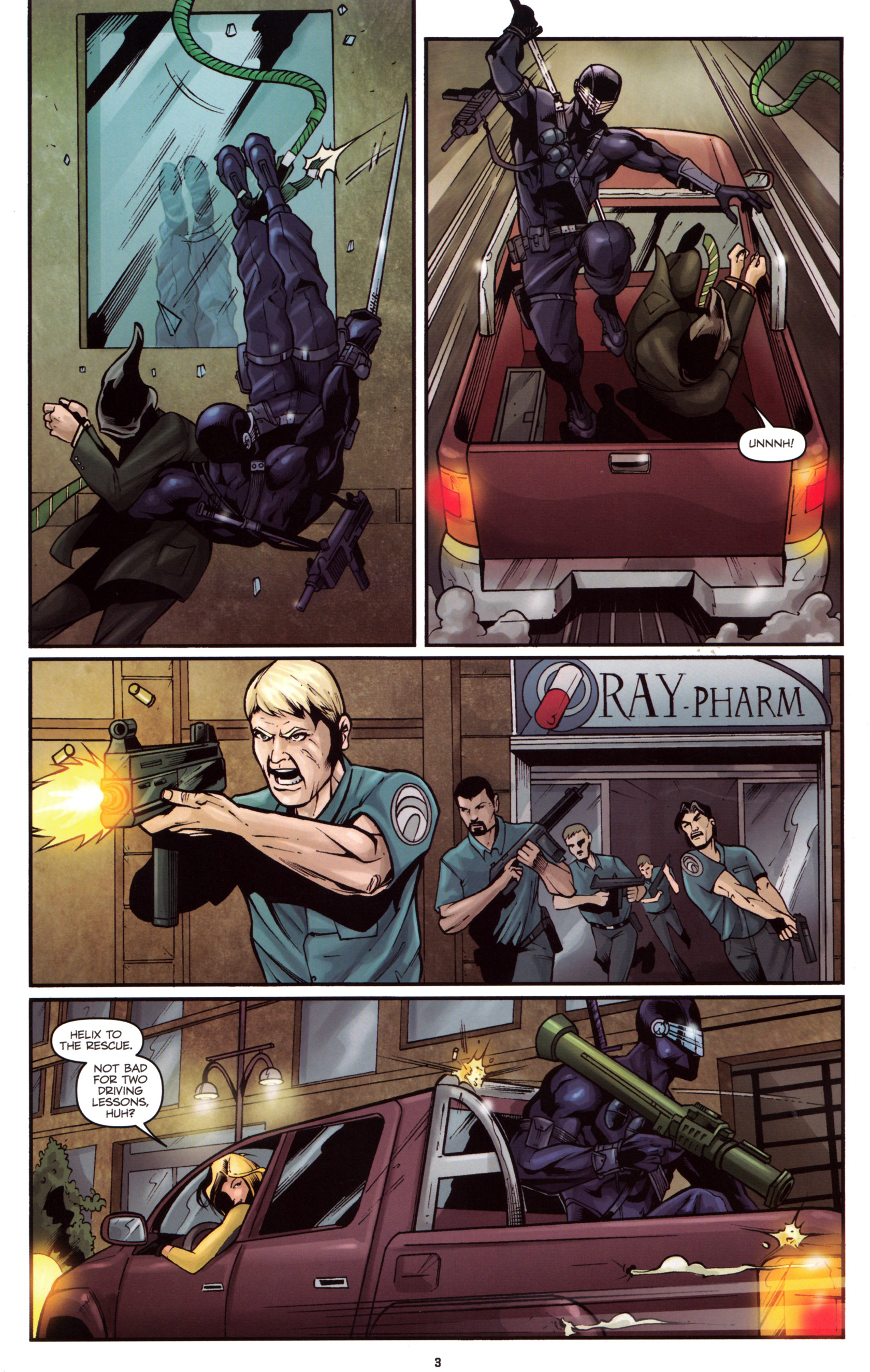 Read online G.I. Joe: Snake Eyes comic -  Issue #5 - 6