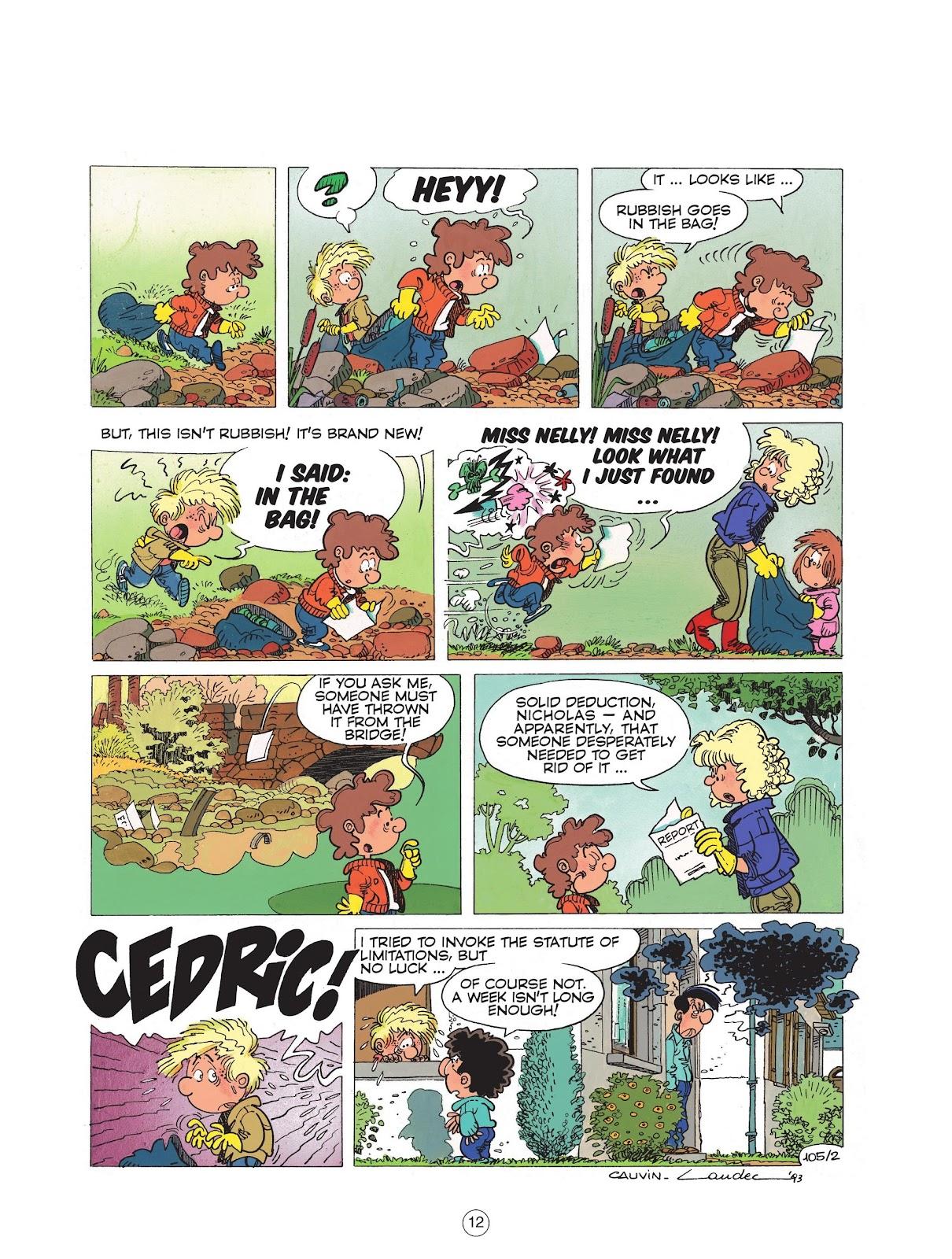 Read online Cedric comic -  Issue #6 - 14