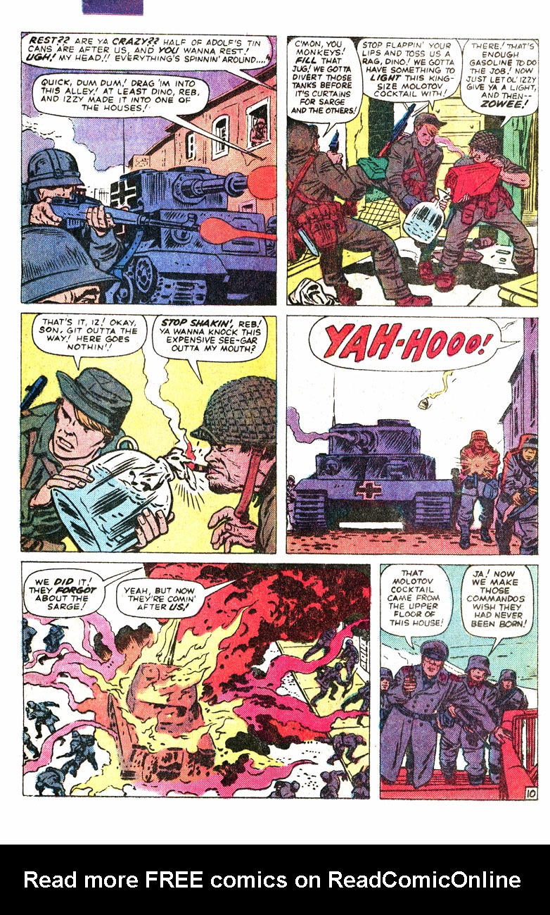 Read online Sgt. Fury comic -  Issue #167 - 16