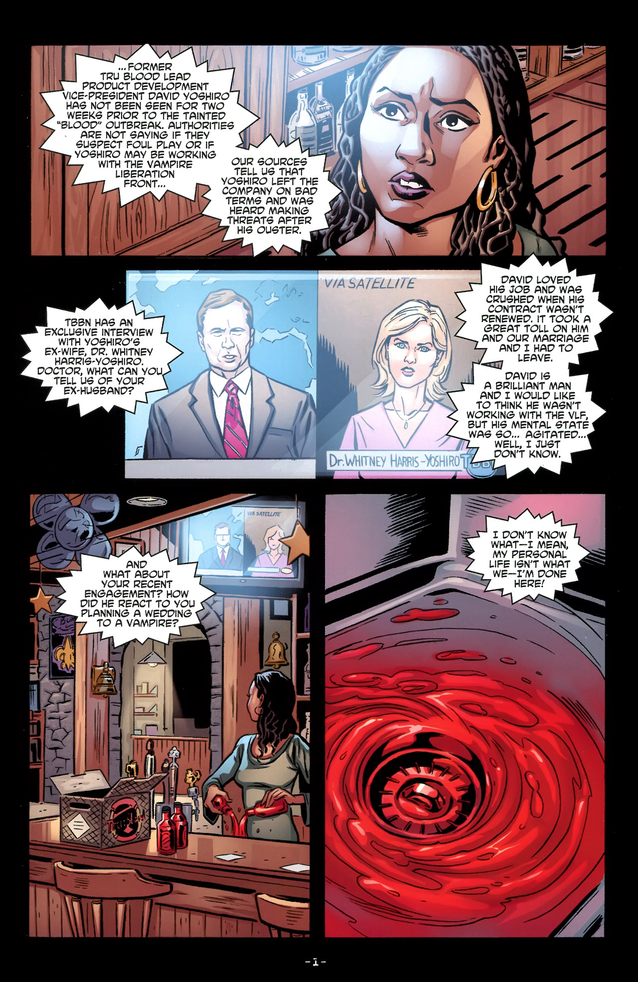 Read online True Blood: Tainted Love comic -  Issue #3 - 5