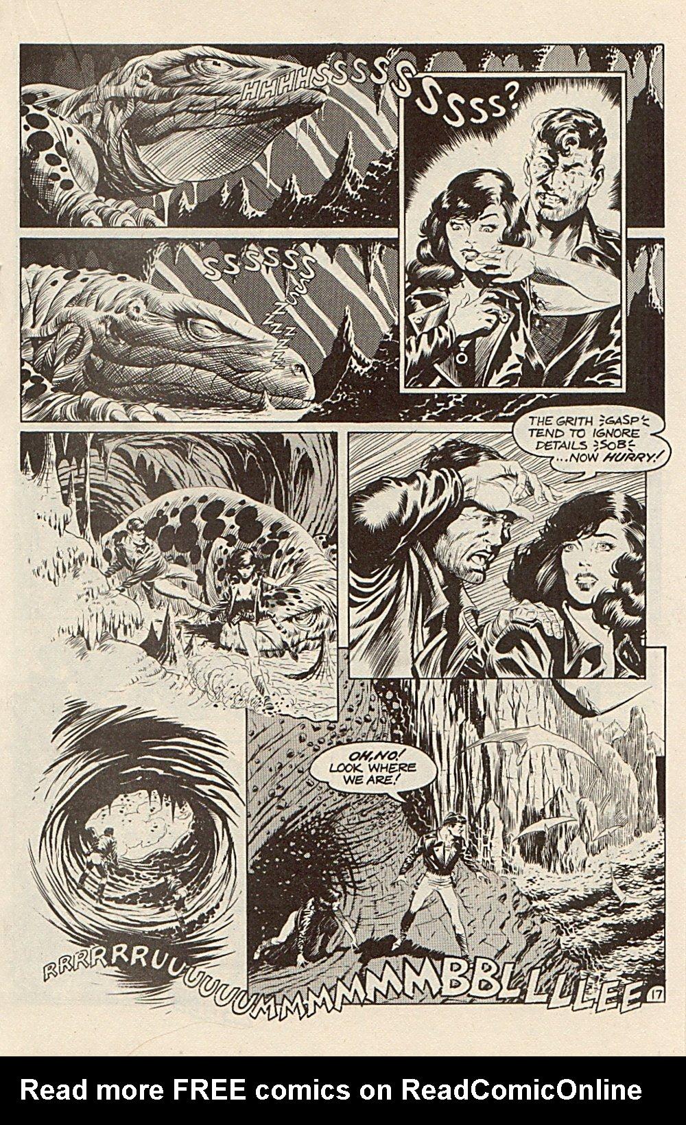 Read online Xenozoic Tales comic -  Issue #3 - 20