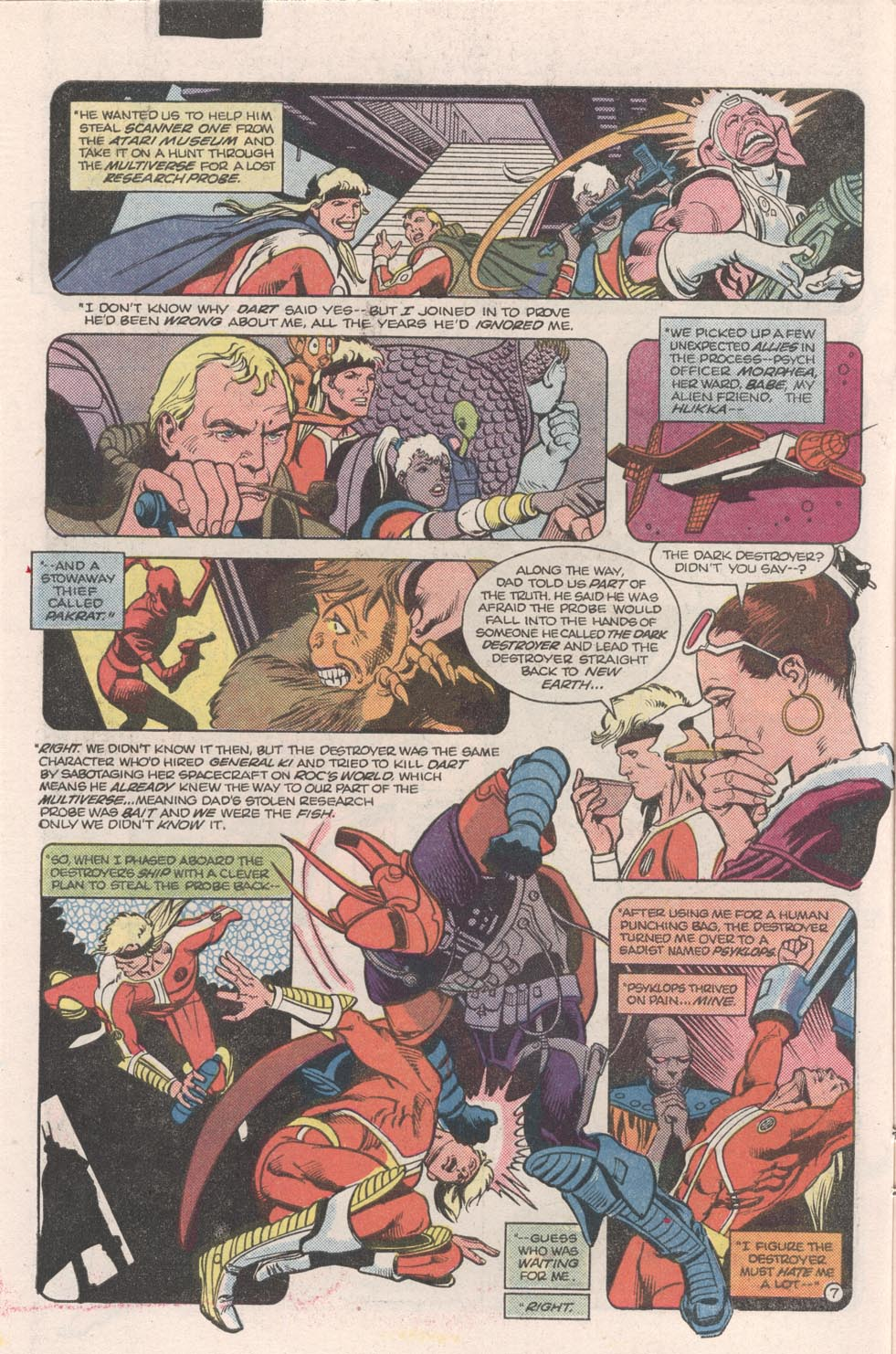 Read online Atari Force (1984) comic -  Issue #9 - 8