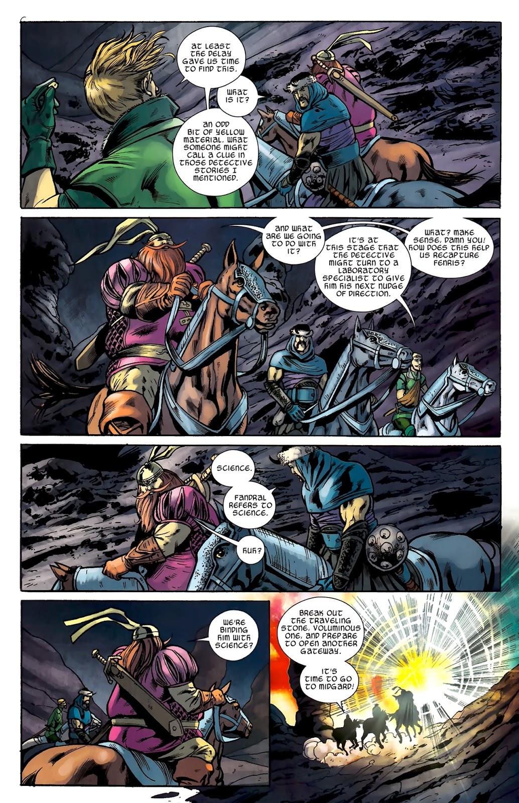 Warriors Three Issue #2 #2 - English 19