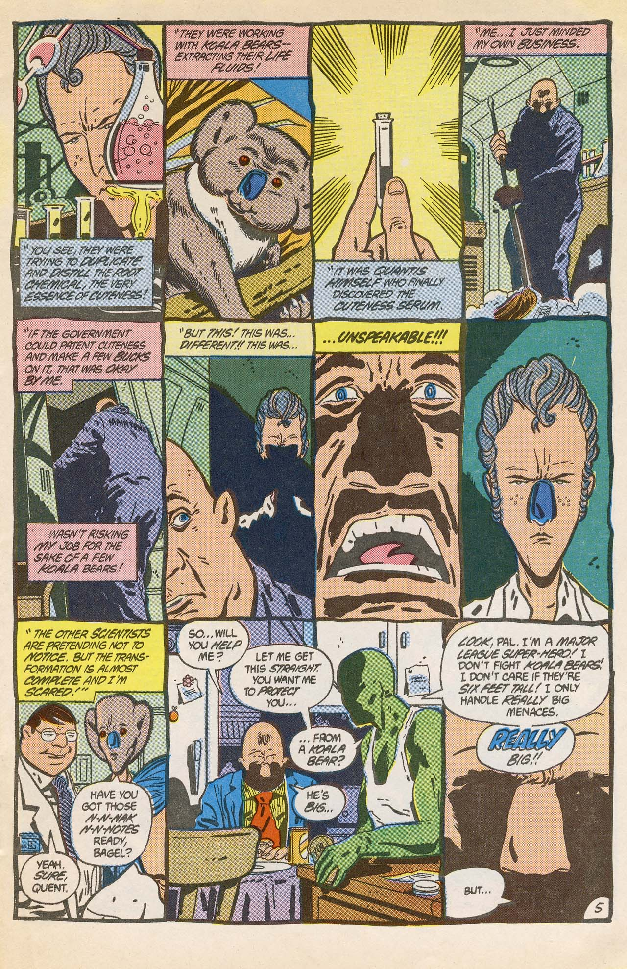 Read online Ambush Bug comic -  Issue #2 - 9
