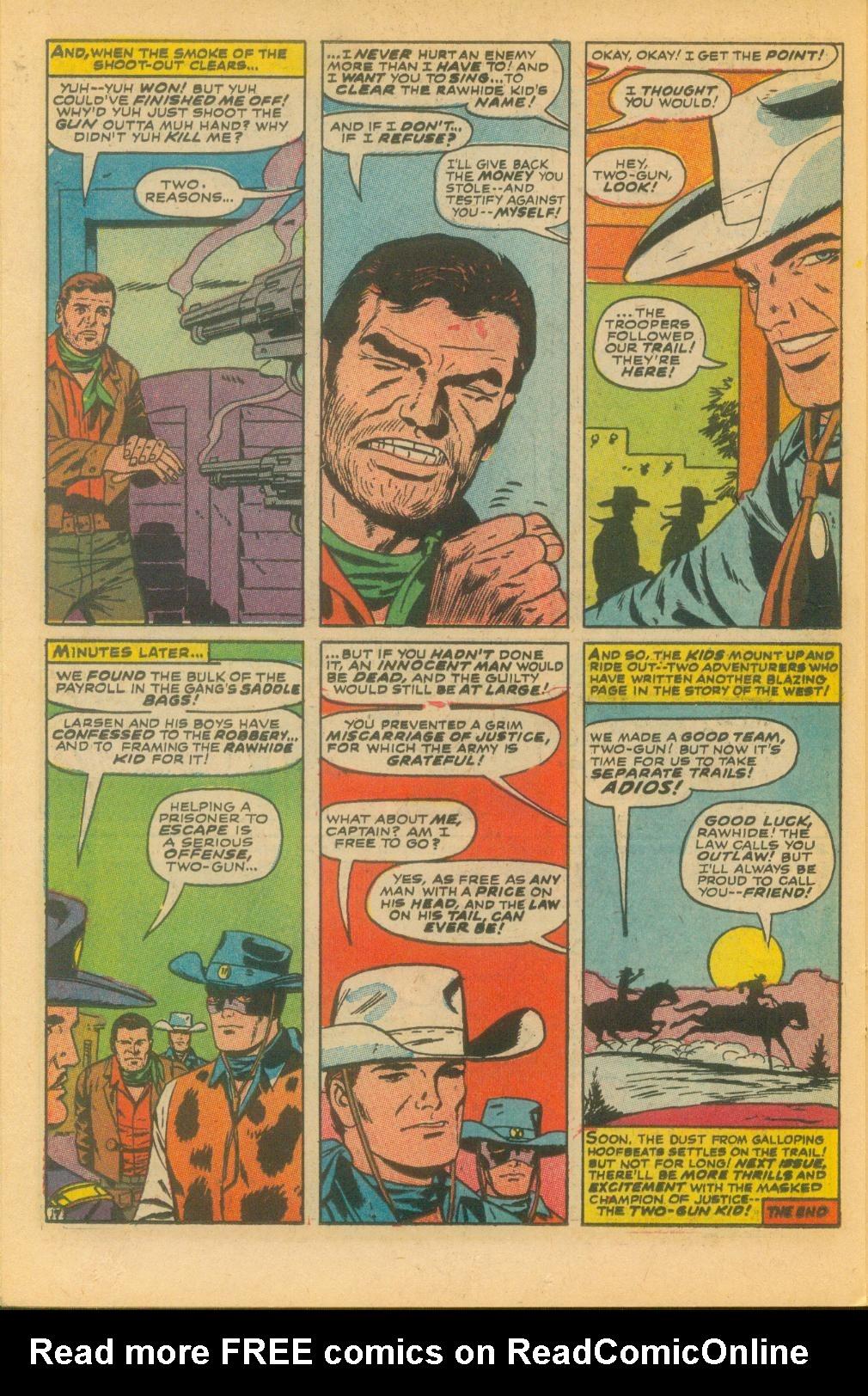 Read online Two-Gun Kid comic -  Issue #85 - 23