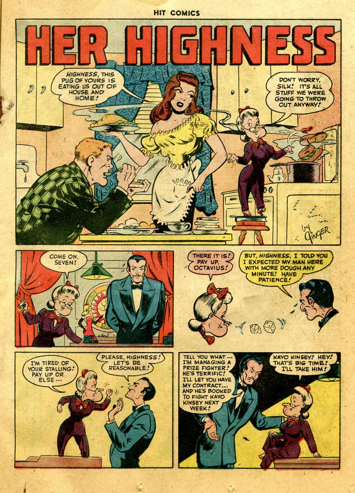 Read online Hit Comics comic -  Issue #44 - 19