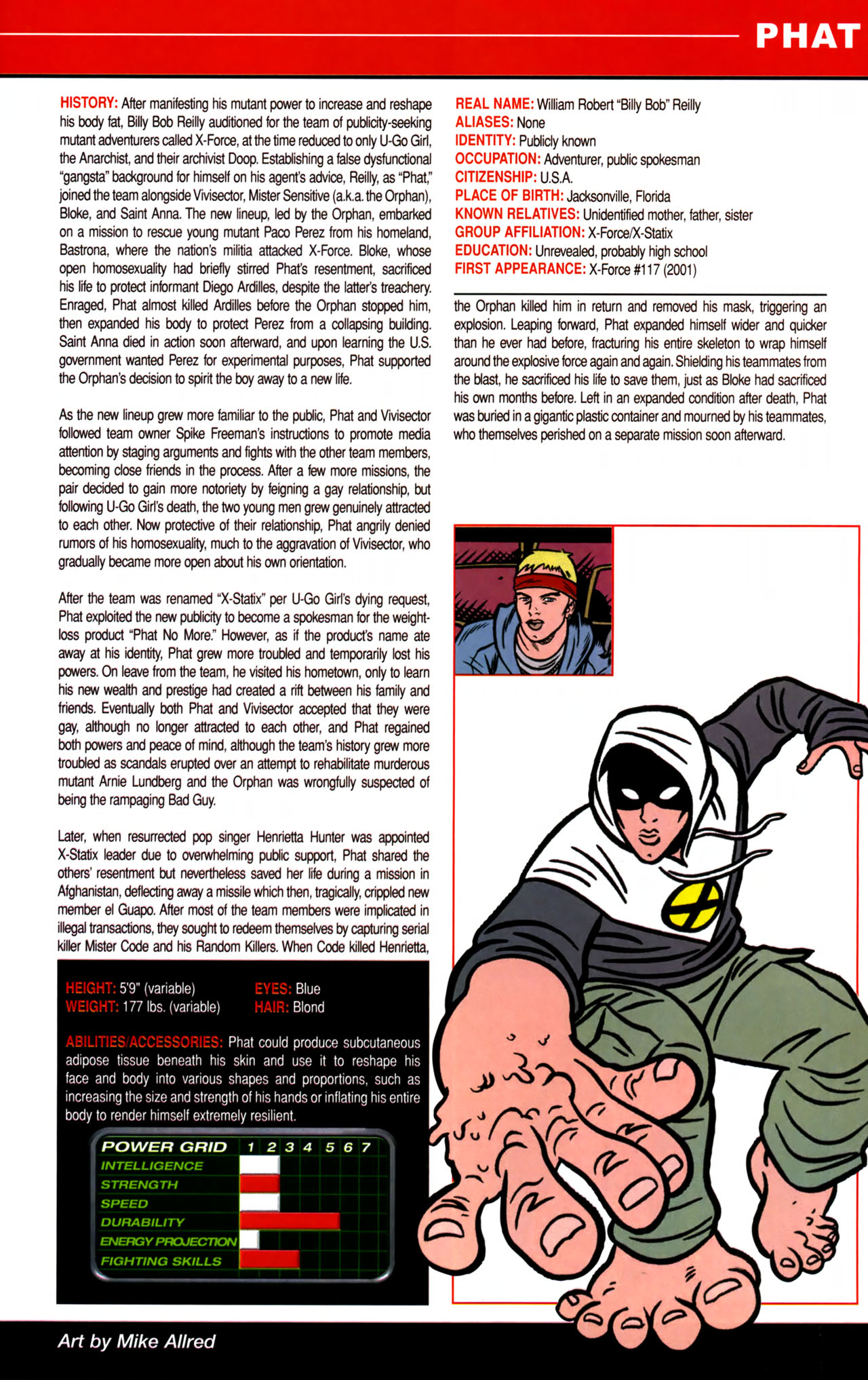 Read online All-New Official Handbook of the Marvel Universe A to Z comic -  Issue #8 - 41