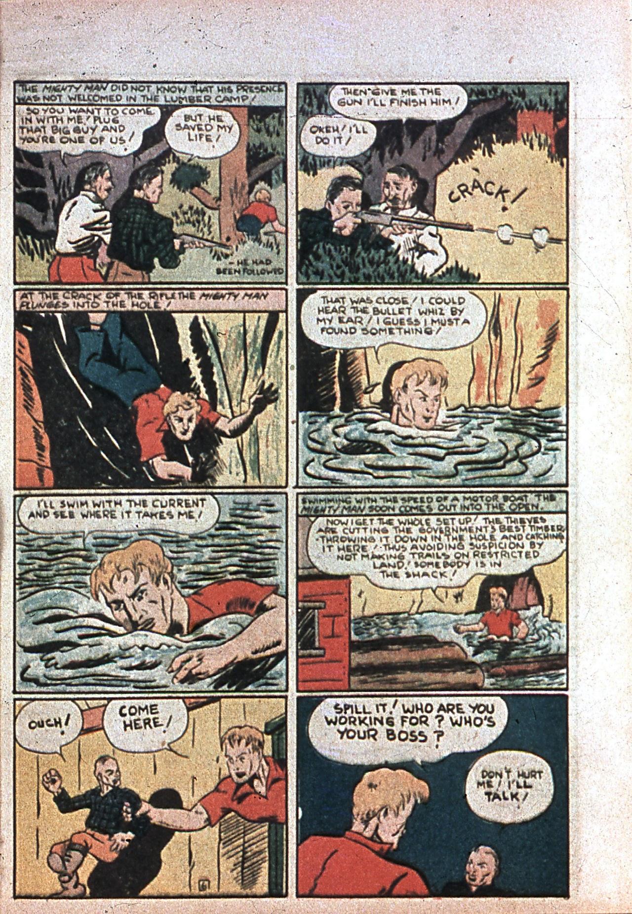 Read online Amazing Man Comics comic -  Issue #7 - 58