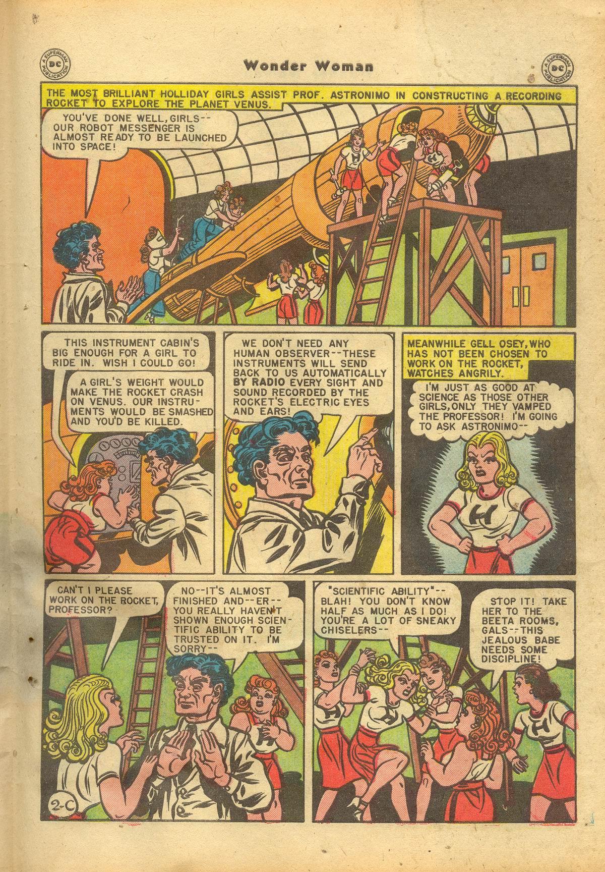 Read online Wonder Woman (1942) comic -  Issue #22 - 39