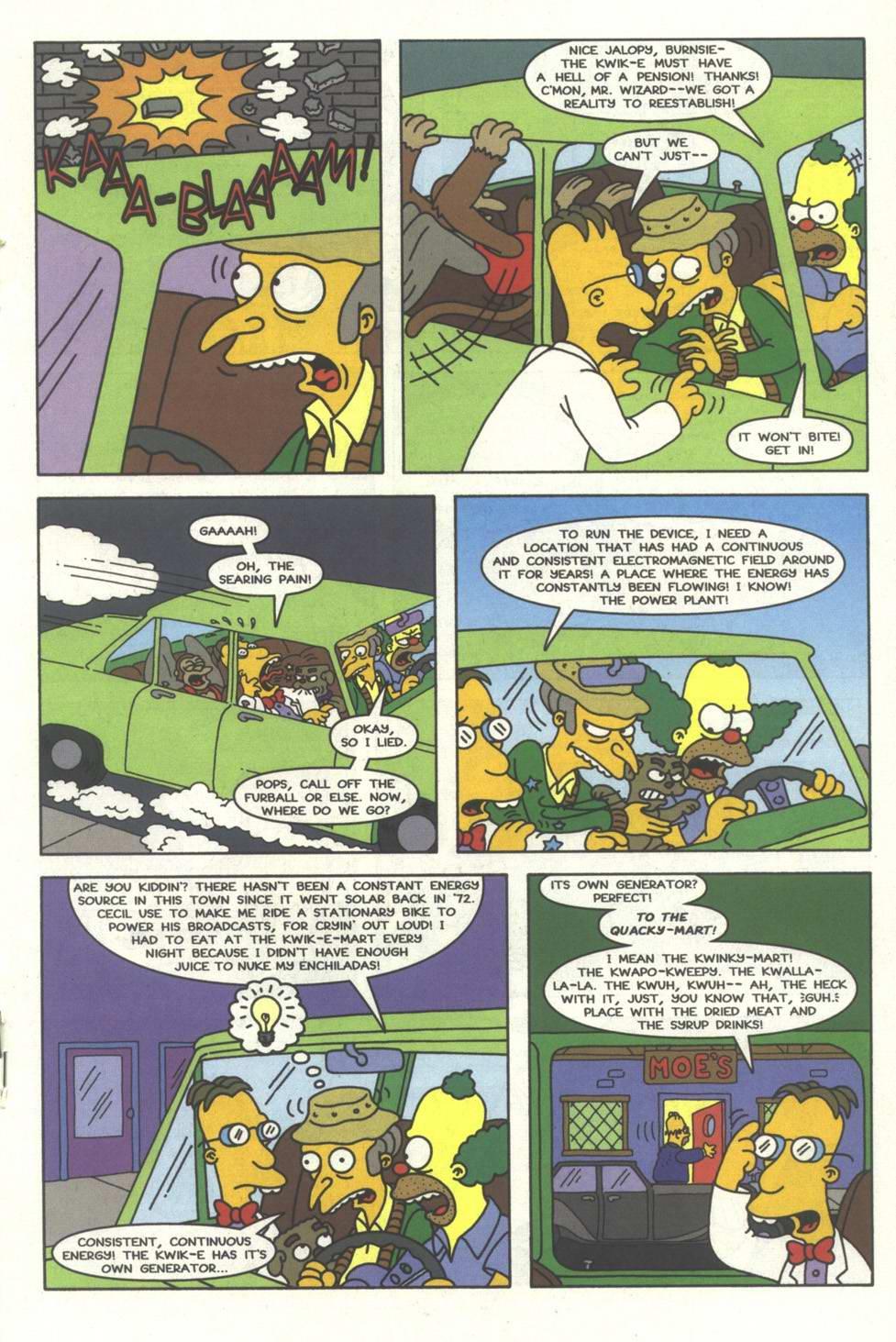 Read online Simpsons Comics comic -  Issue #33 - 18