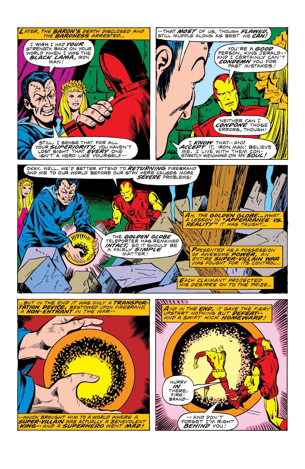Read online Marvel Masterworks: The Invincible Iron Man comic -  Issue # TPB 10 (Part 3) - 49