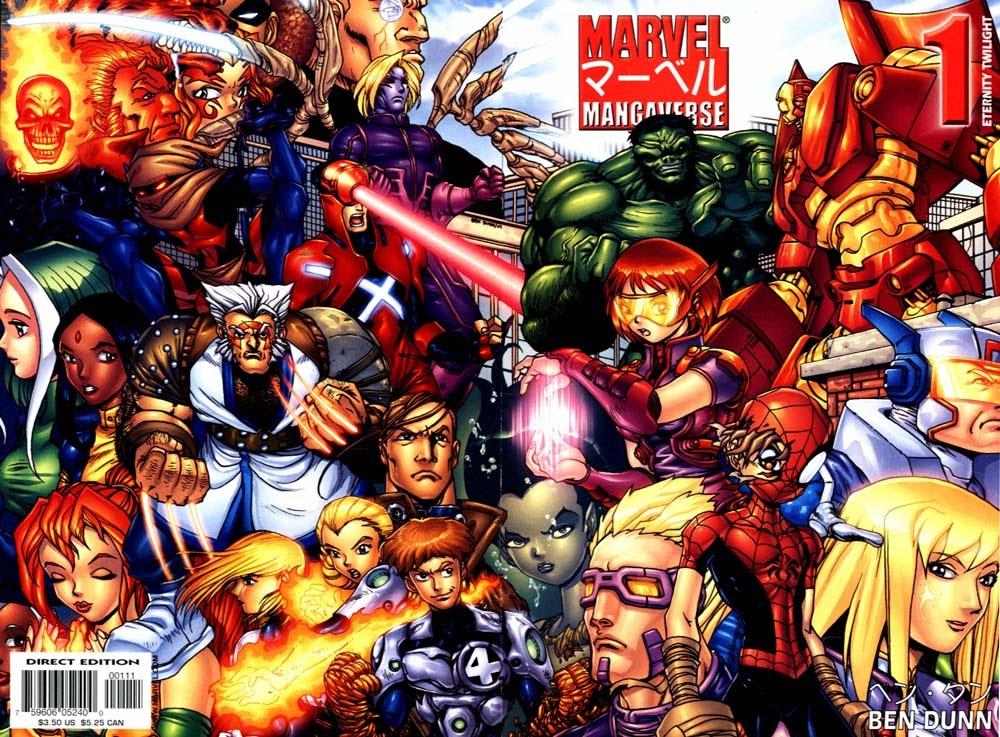 Marvel Mangaverse: Eternity Twilight Full Page 1