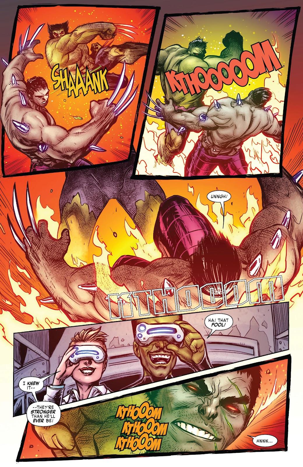 Read online Hulkverines comic -  Issue #3 - 21