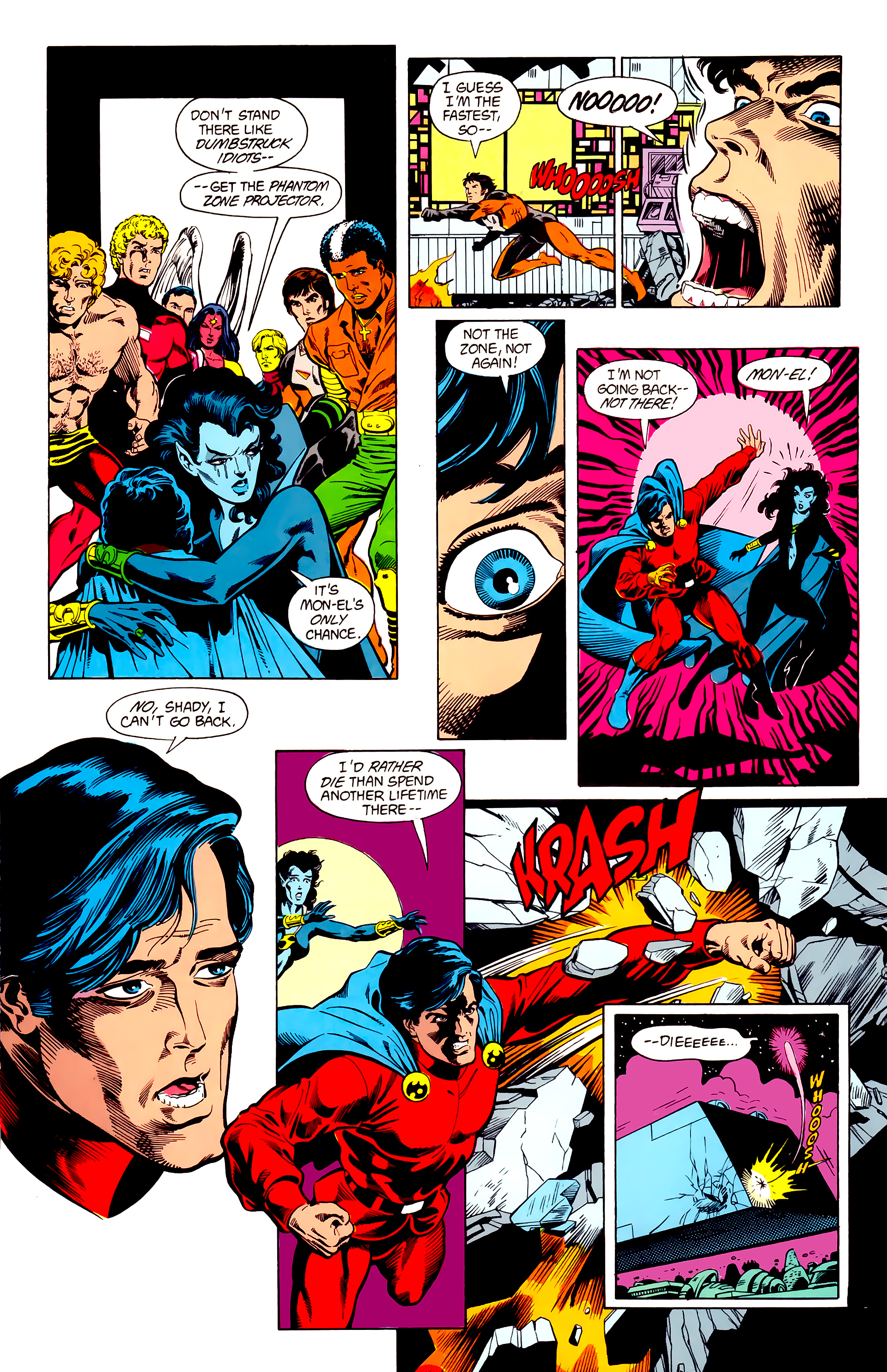 Legion of Super-Heroes (1984) 23 Page 5