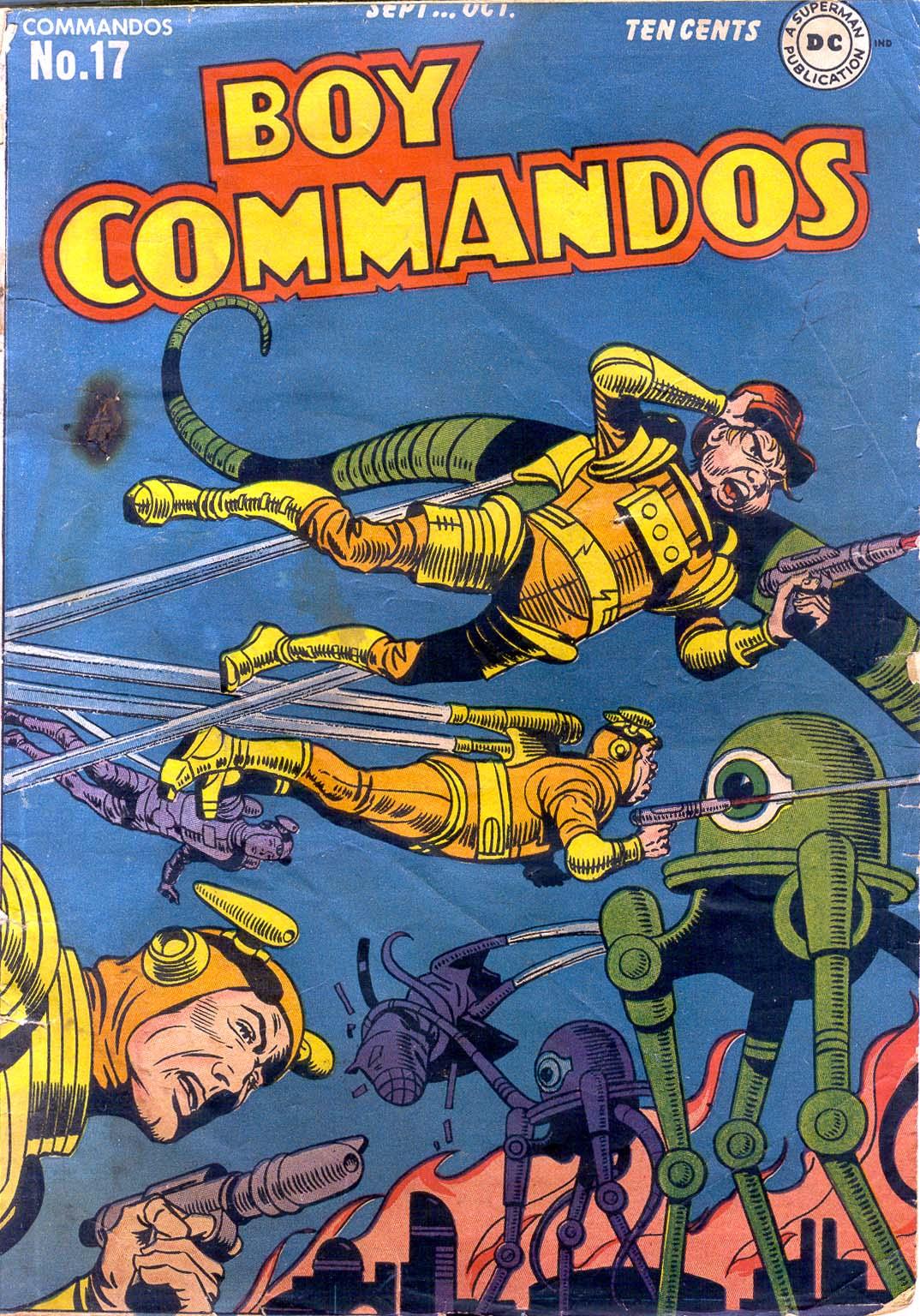 Boy Commandos issue 17 - Page 1