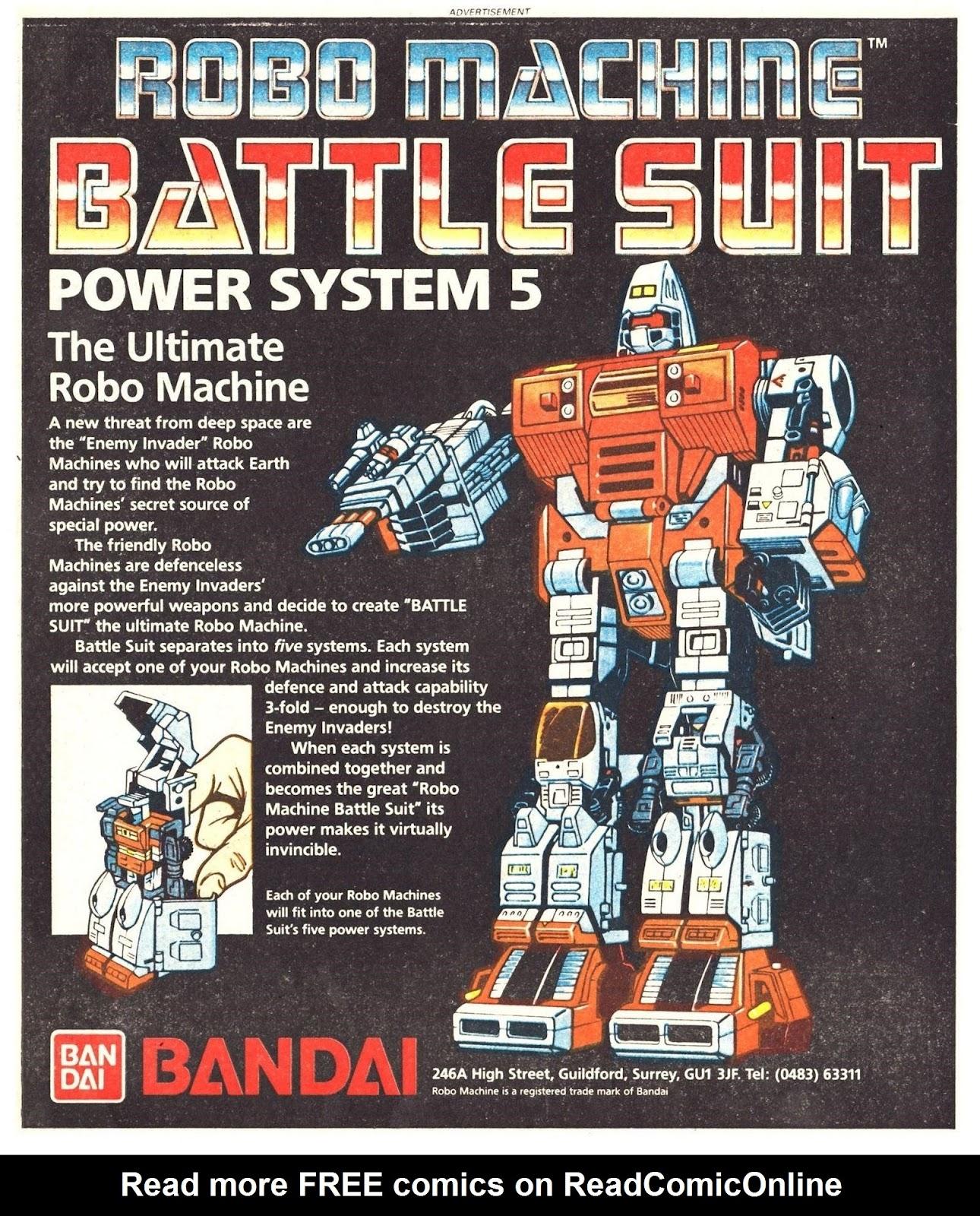 Read online Robo Machines comic -  Issue # TPB - 122