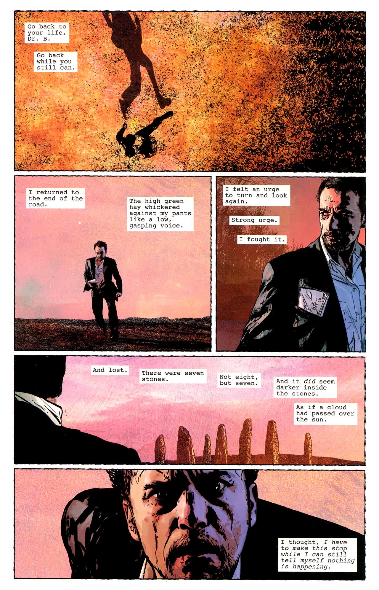 Read online Stephen King's N. comic -  Issue #3 - 10