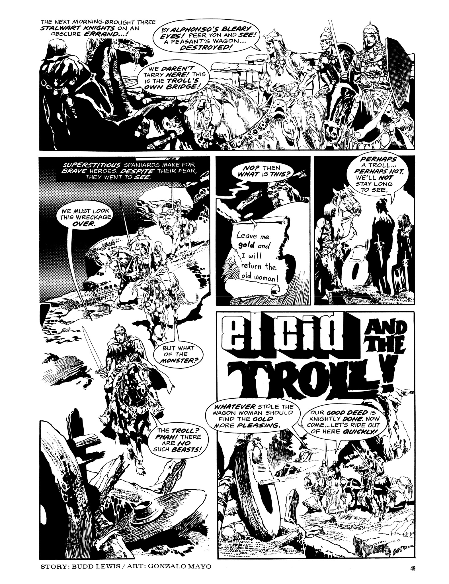 Read online Eerie Archives comic -  Issue # TPB 14 - 50