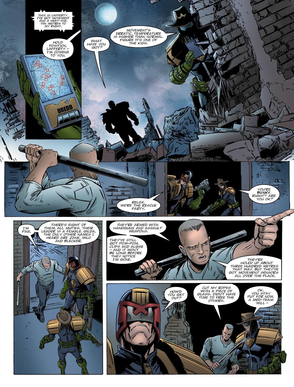Judge Dredd Megazine (Vol. 5) Issue #381 #180 - English 10