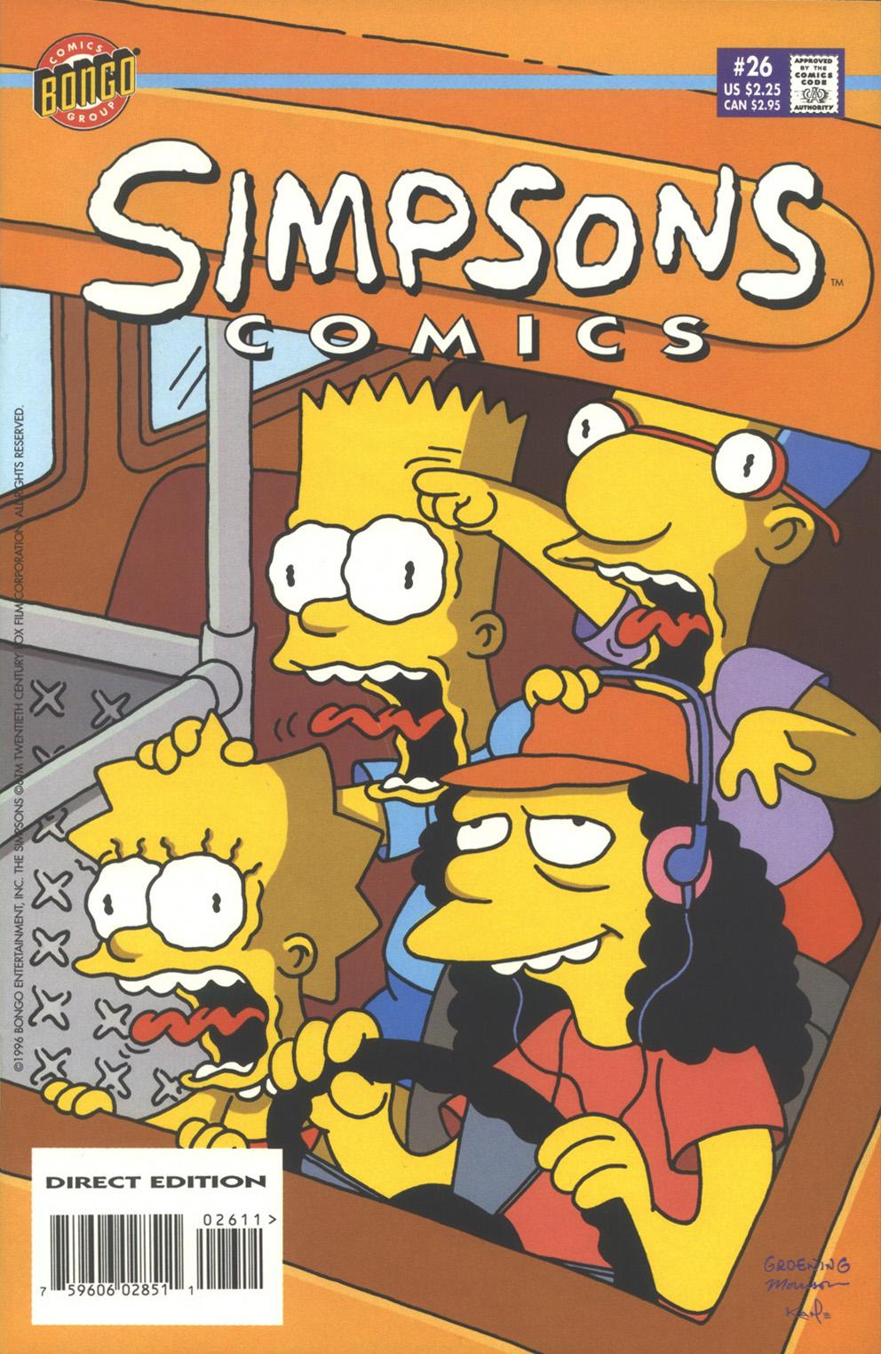 Read online Simpsons Comics comic -  Issue #26 - 1