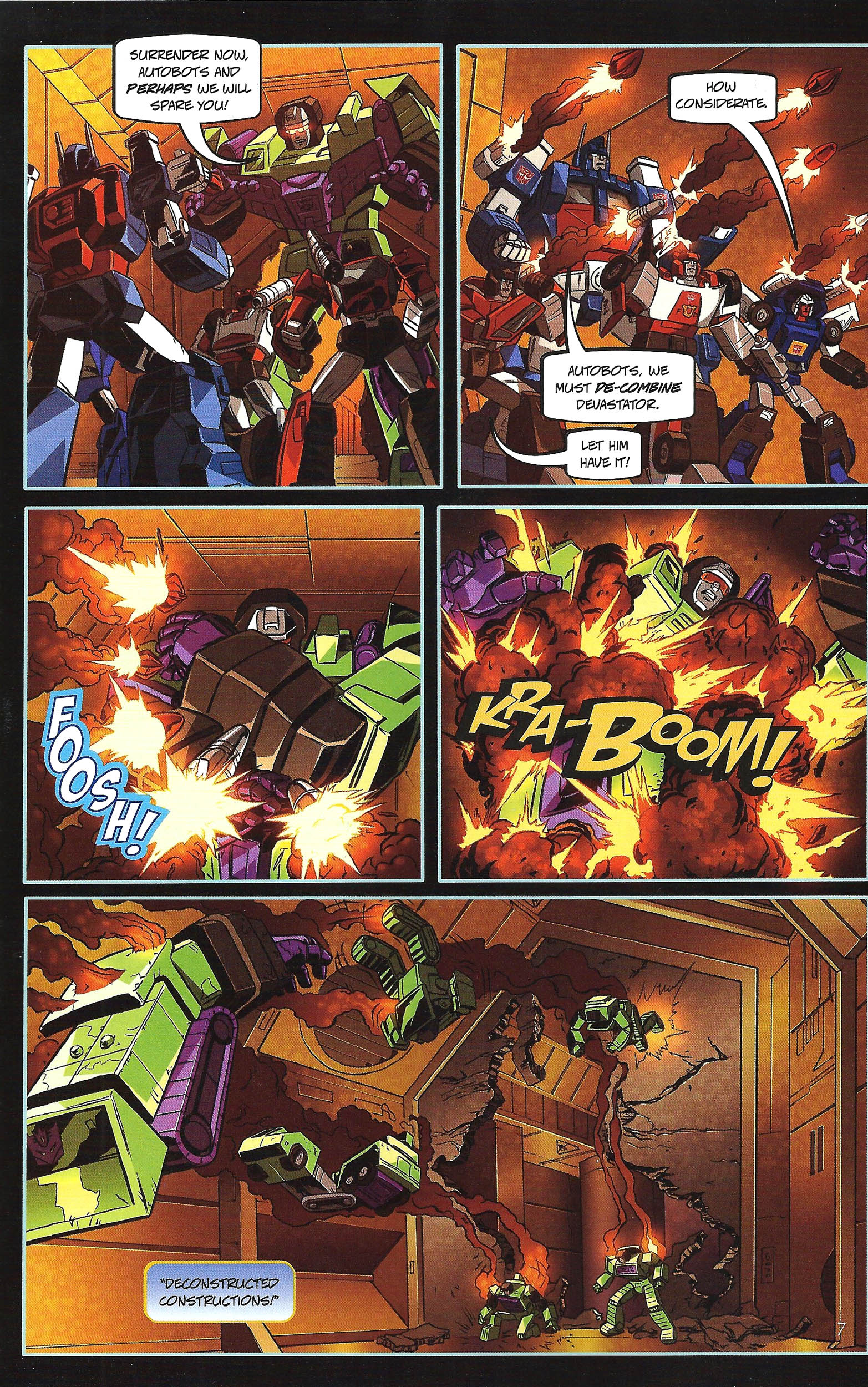 Read online Transformers: Collectors' Club comic -  Issue #43 - 7