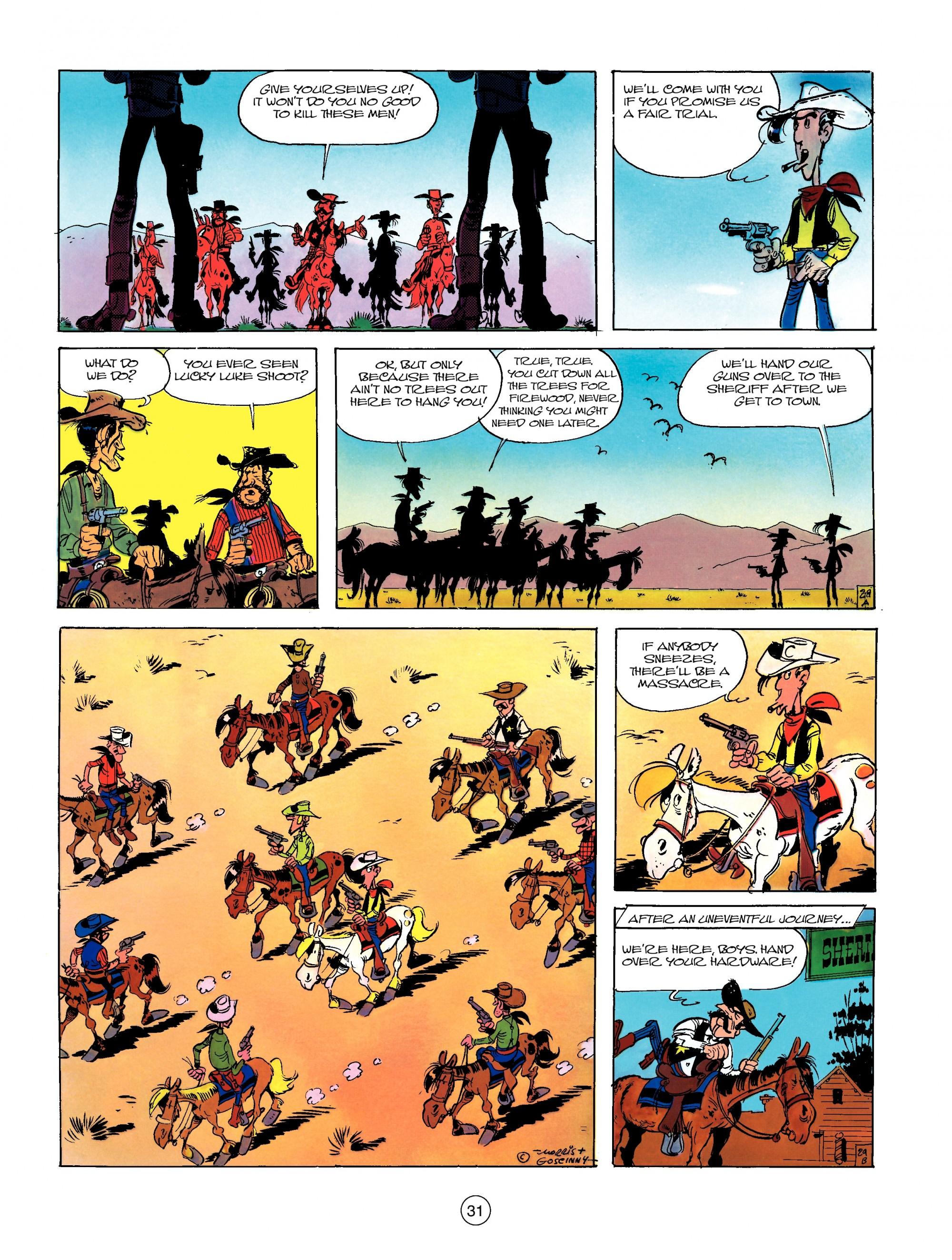 Read online A Lucky Luke Adventure comic -  Issue #13 - 31