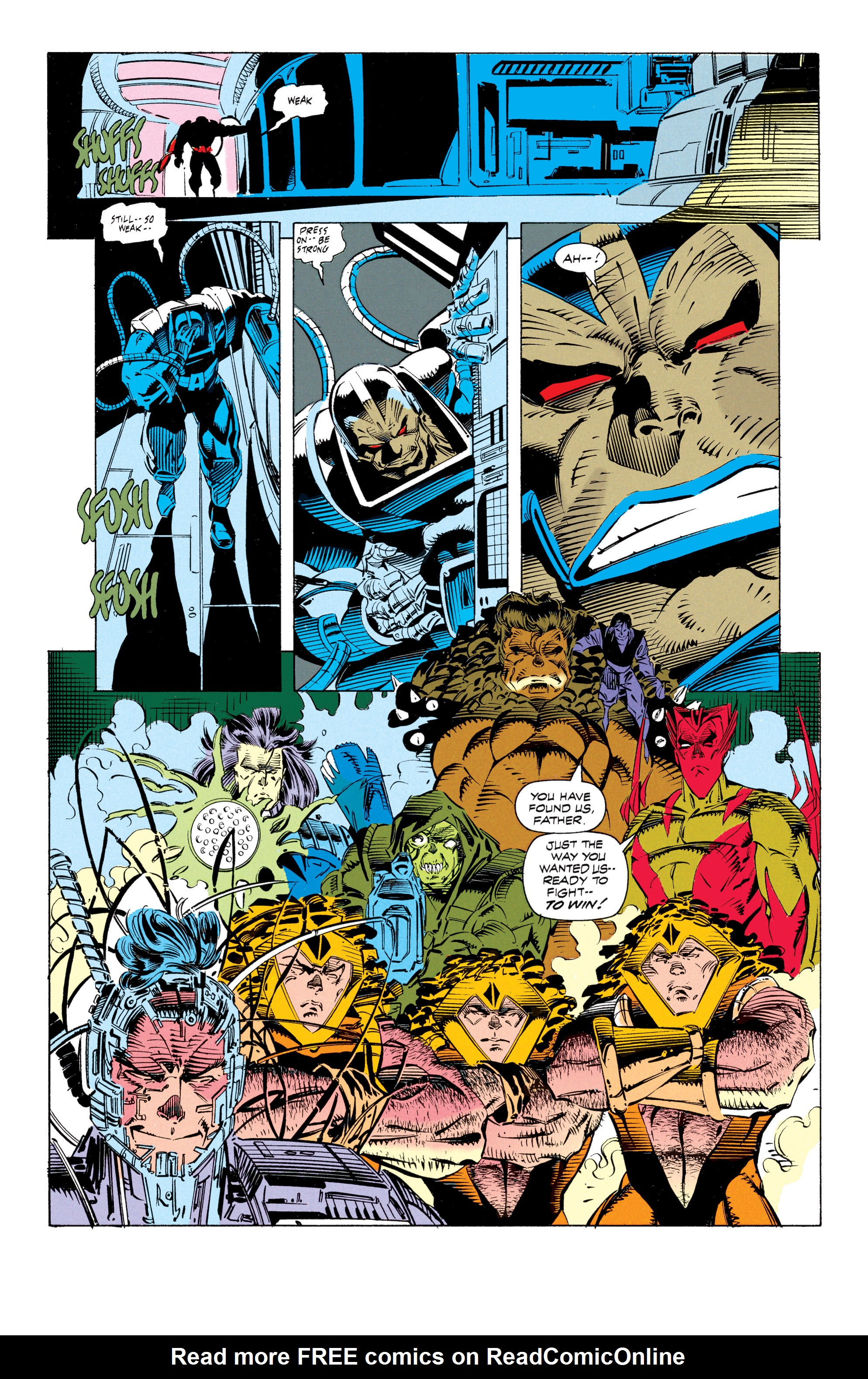 X-Men (1991) 16 Page 17