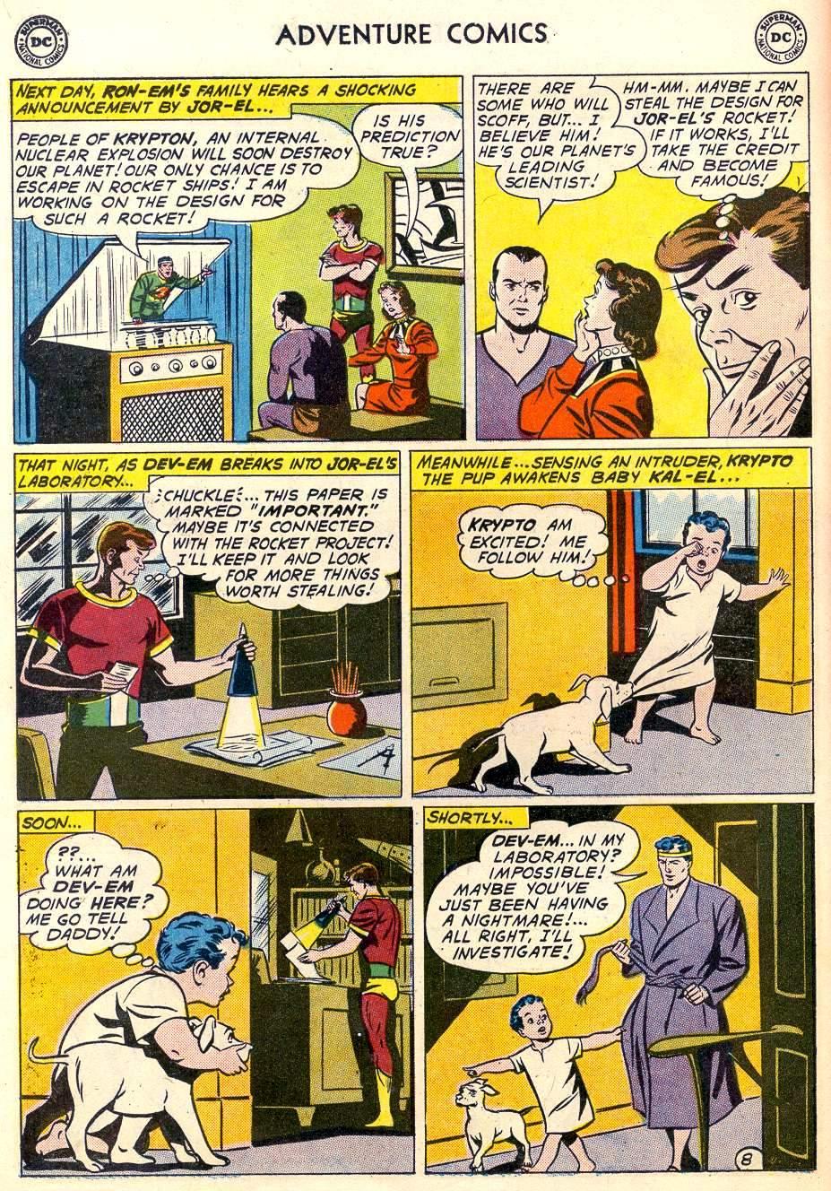 Read online Adventure Comics (1938) comic -  Issue #287 - 10