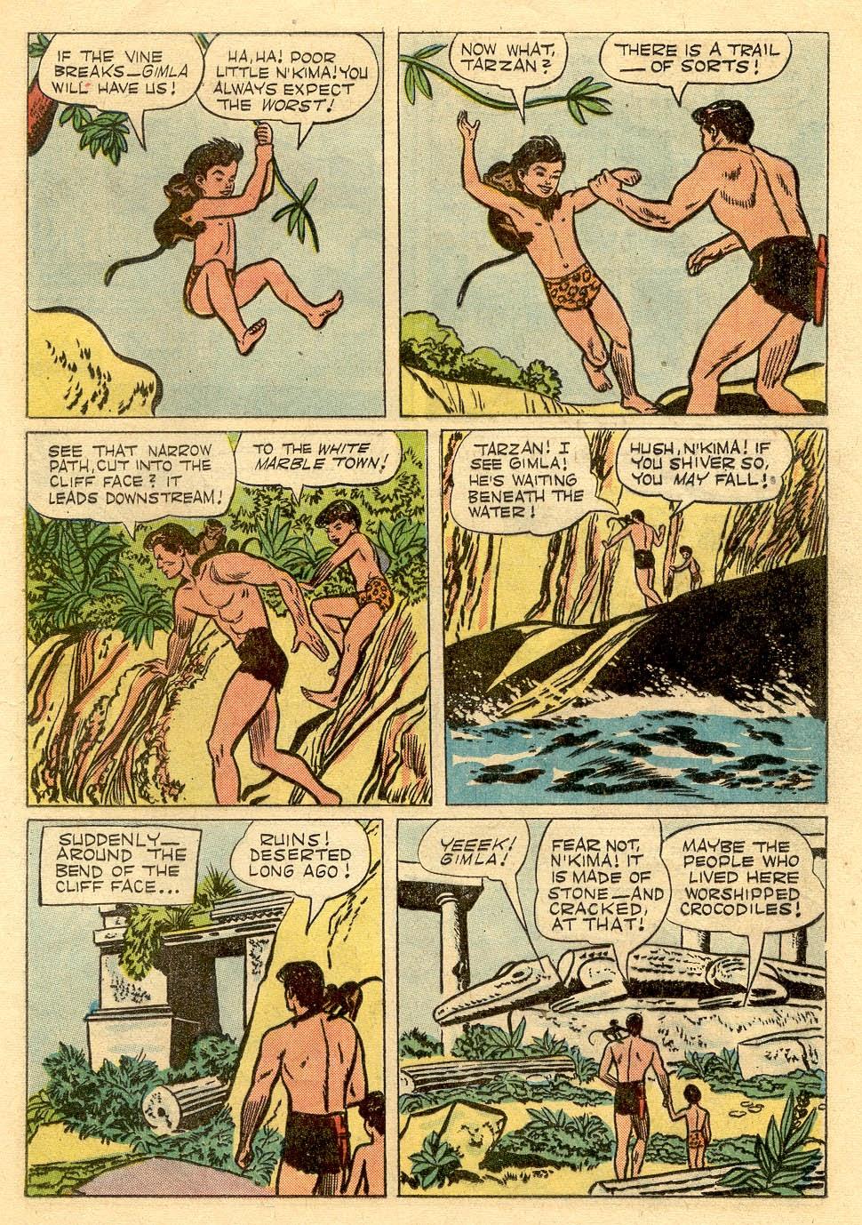 Tarzan (1948) issue 62 - Page 22