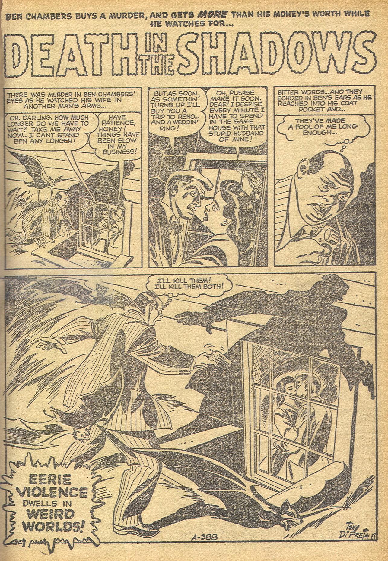 Read online Adventures into Weird Worlds comic -  Issue #8 - 16