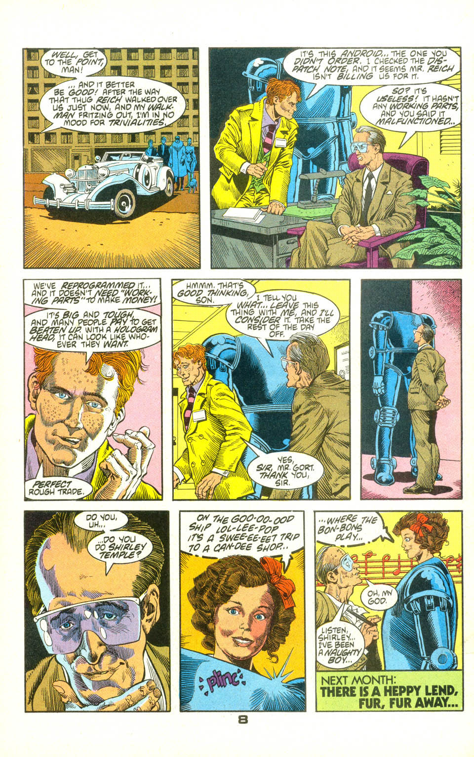 Read online American Flagg! comic -  Issue #22 - 30