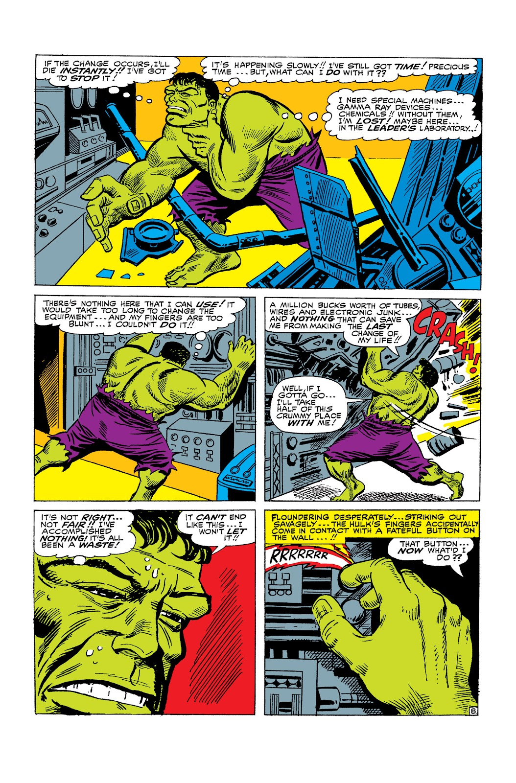 Read online Marvel Masterworks: The Incredible Hulk comic -  Issue # TPB 2 (Part 2) - 64