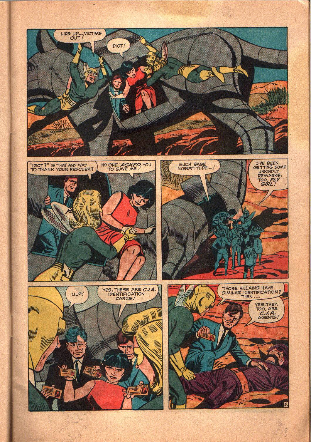 The Mighty Crusaders (1965) Issue #6 #6 - English 6