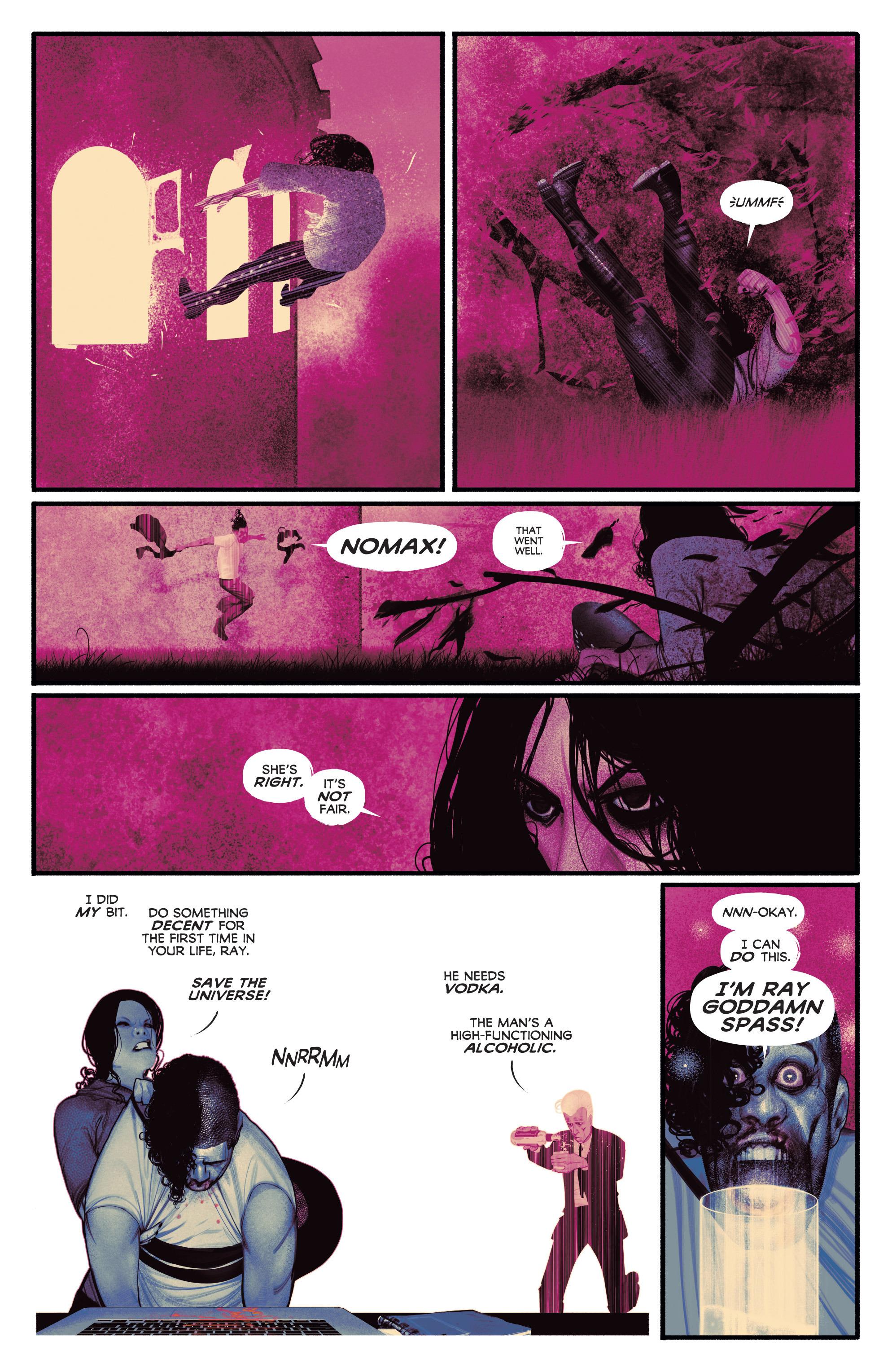 Read online Annihilator comic -  Issue #6 - 7