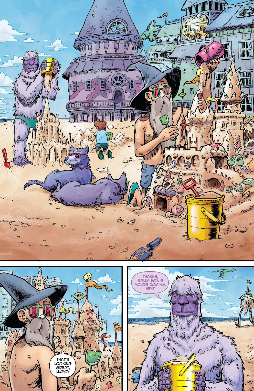 Read online Wizard Beach comic -  Issue #4 - 5