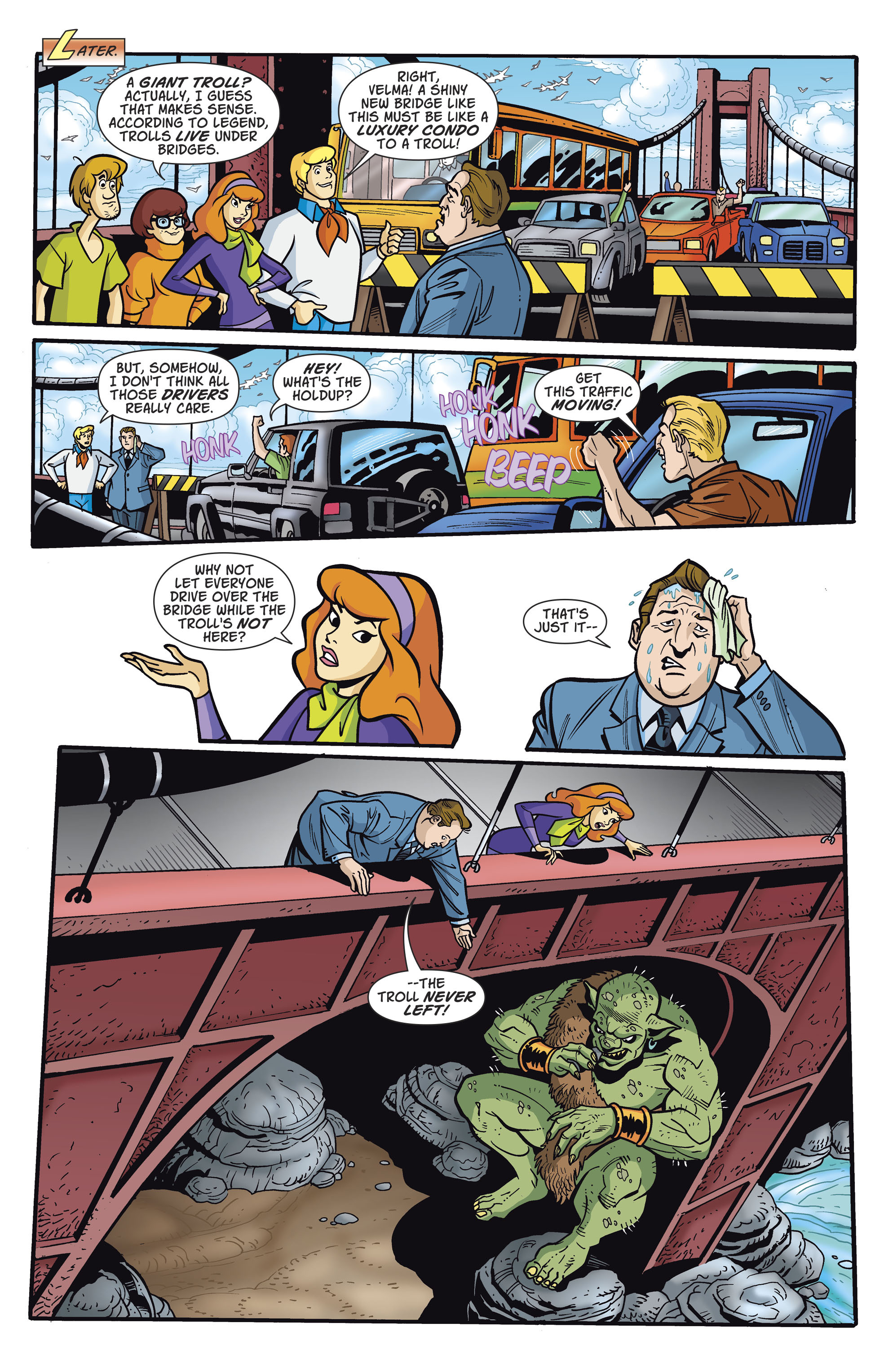 Read online Scooby-Doo: Where Are You? comic -  Issue #81 - 3