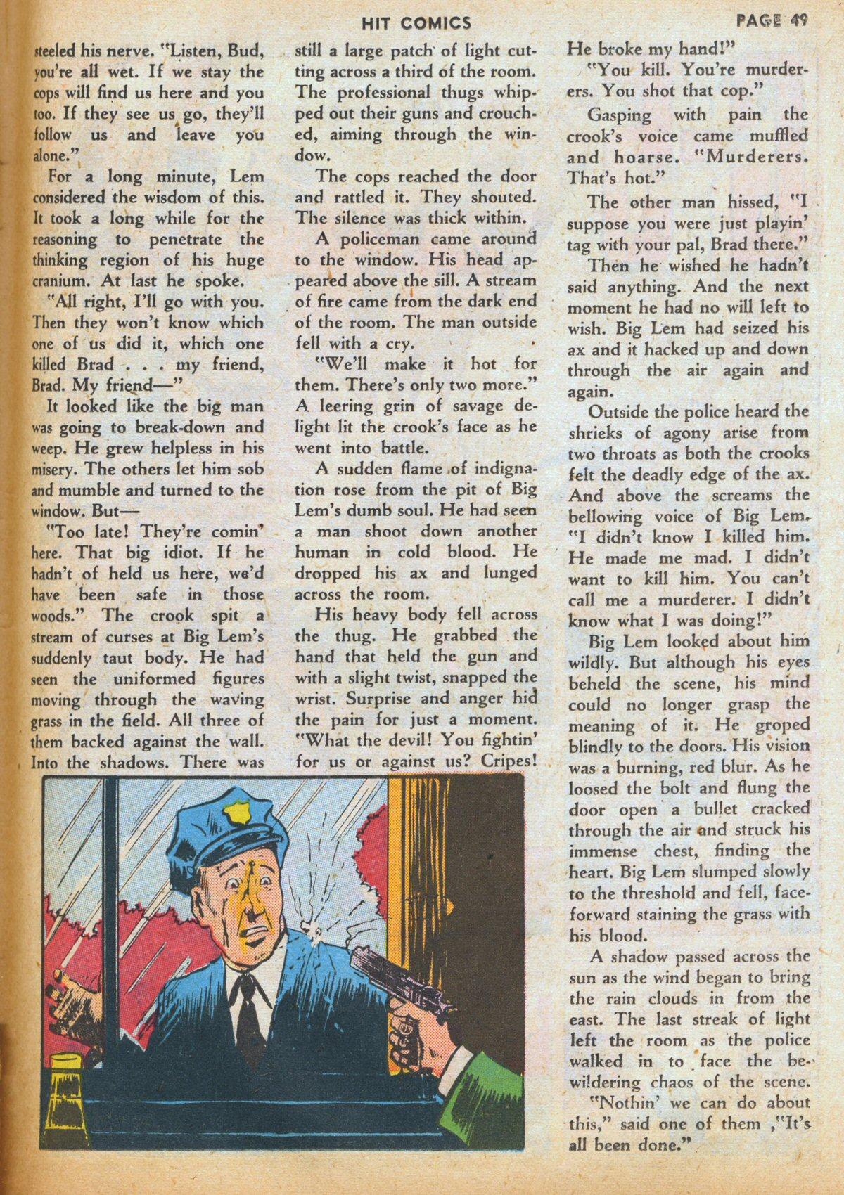Read online Hit Comics comic -  Issue #12 - 51