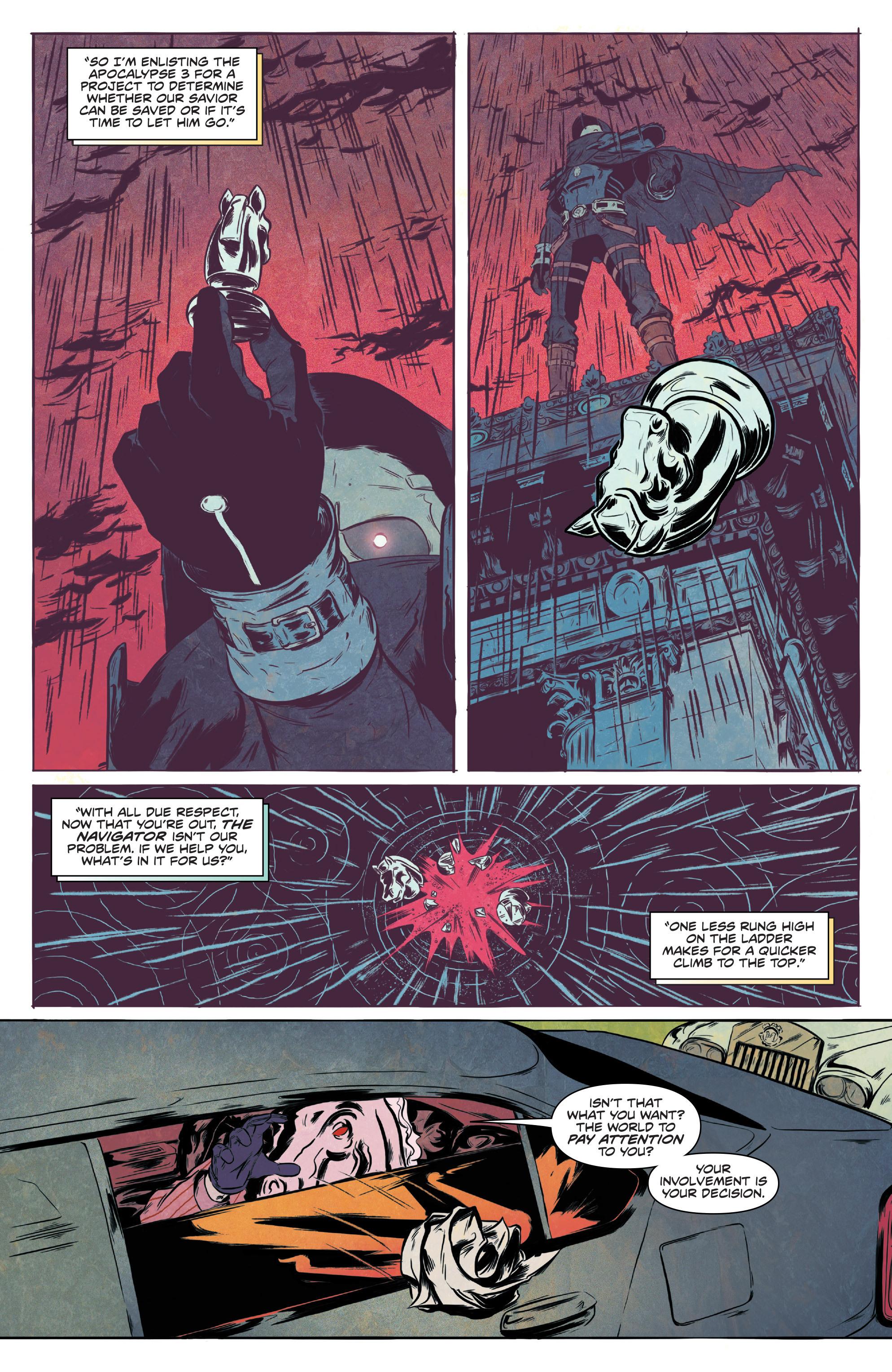 Read online Translucid comic -  Issue #1 - 9